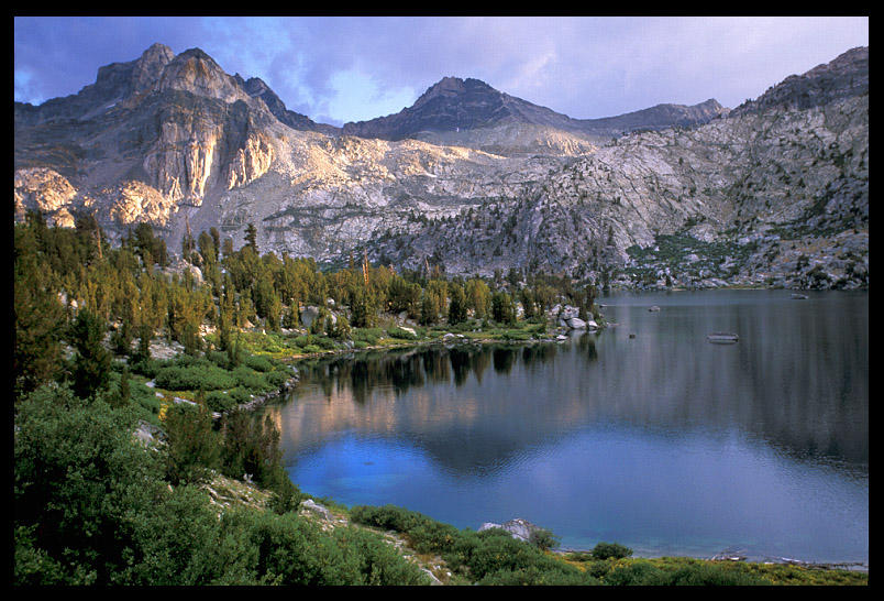 middle rae lake from the jmt author ernst brian