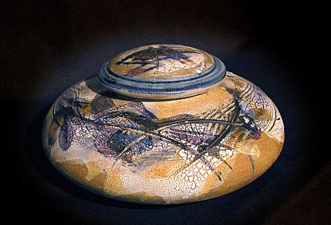ovoid form with lid wide author mckenzie dennis