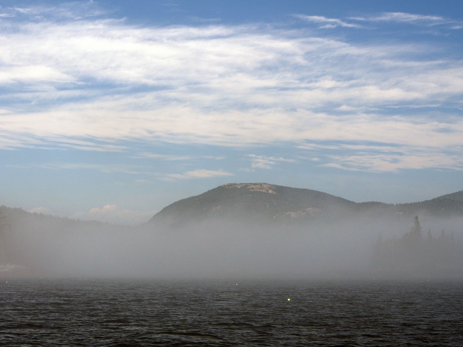 seal harbor in sudden fog bank author hull ray