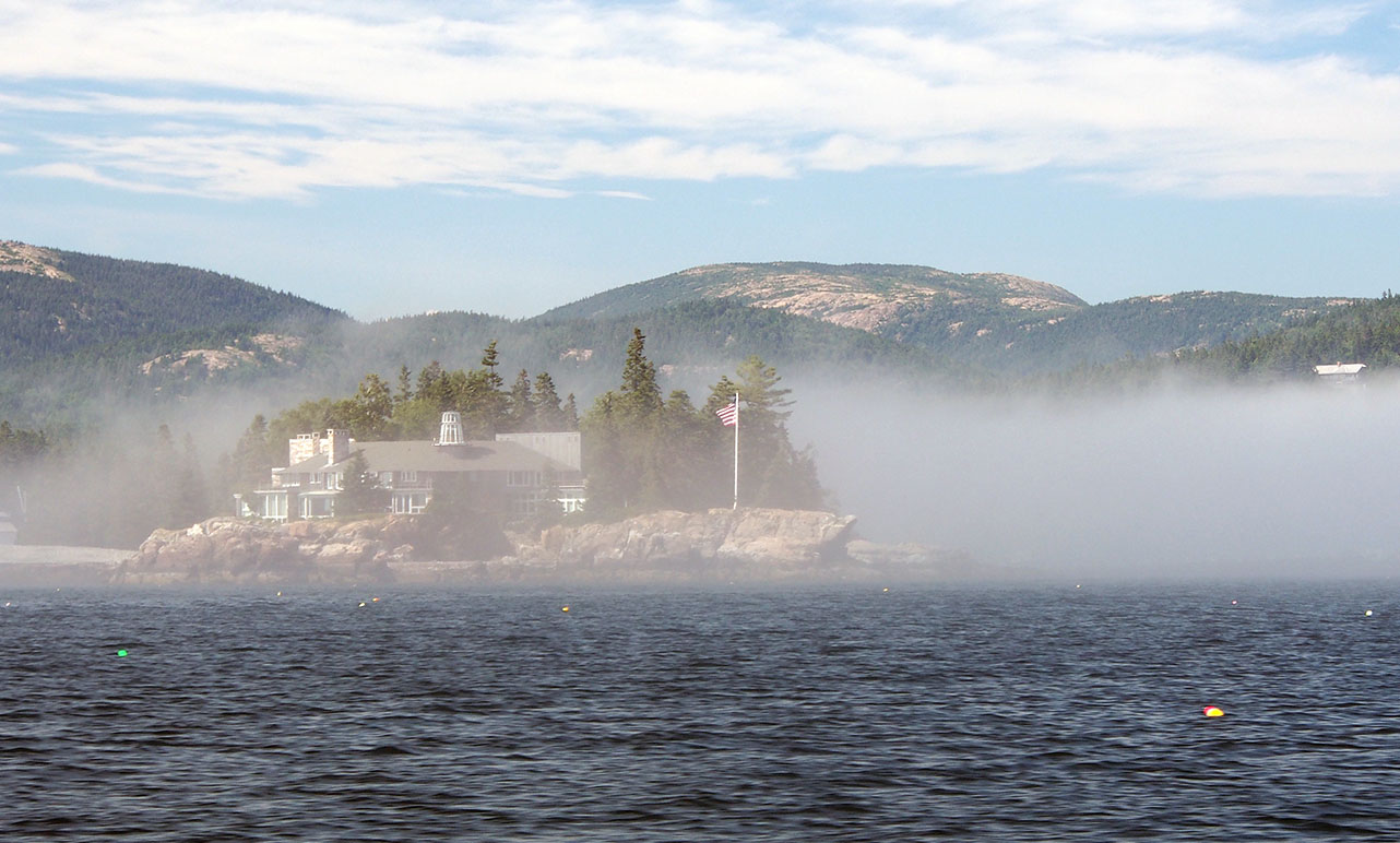 the anchorage crowinshield point fog bank author hull ray