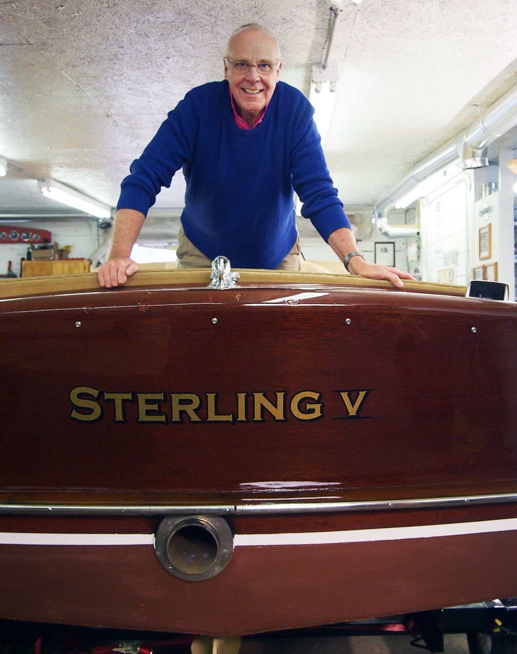 re commissioned as sterling v in hull family boat ray
