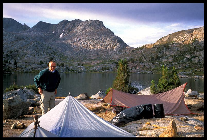 jim at marie lake camp author ernst brian