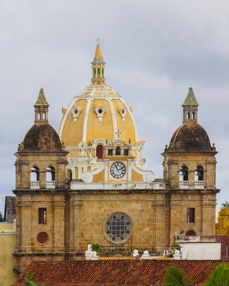 cartagena cathedral see big for details author d downs jim