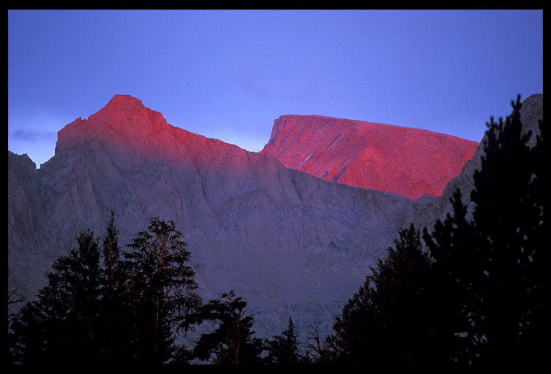 alpenglow on mt whitney author ernst brian