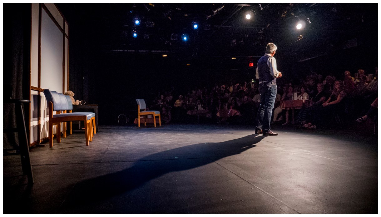 peter serko at cider mill playhouse author walker clay