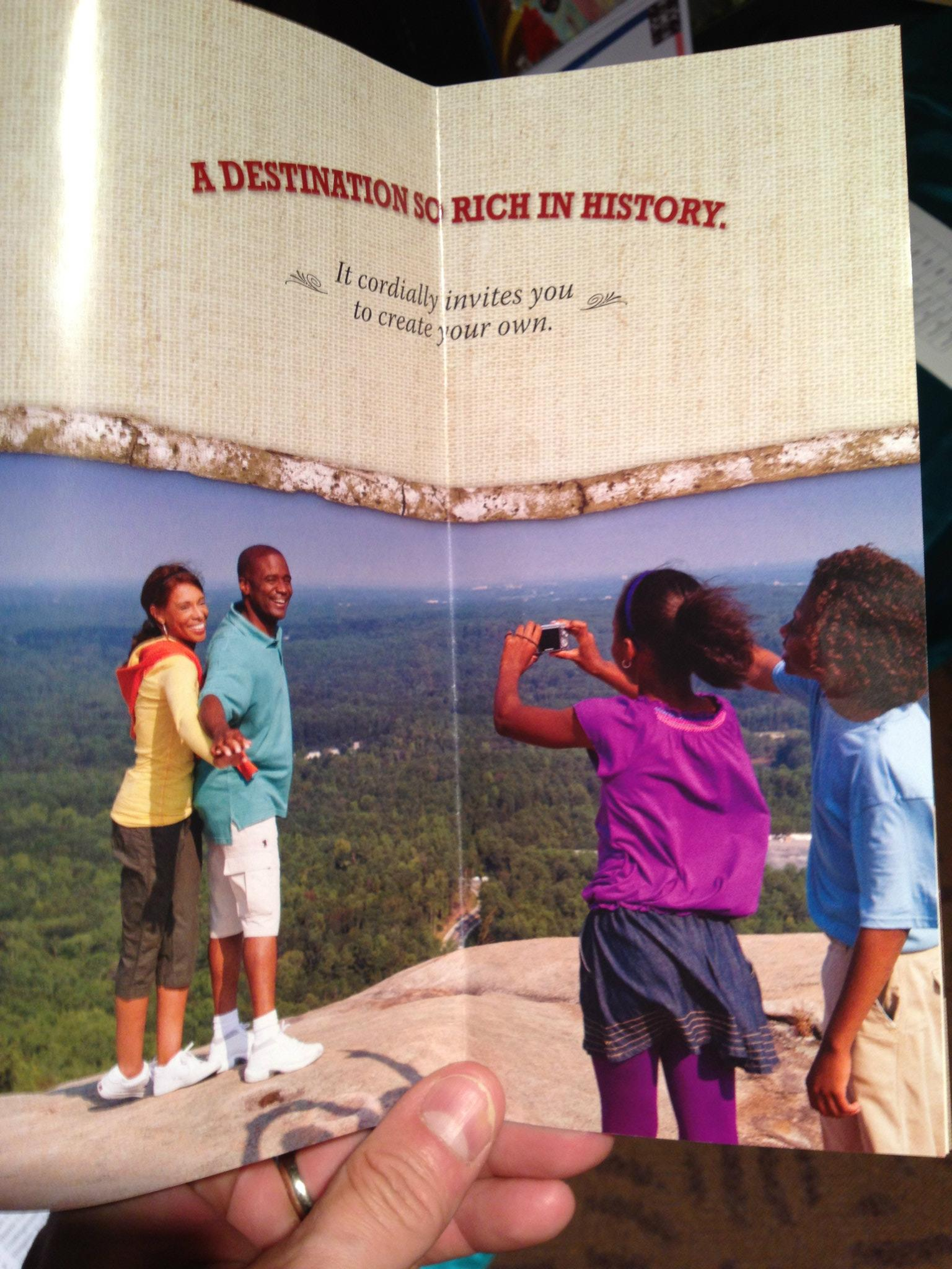 stone mountain brochure author walker clay