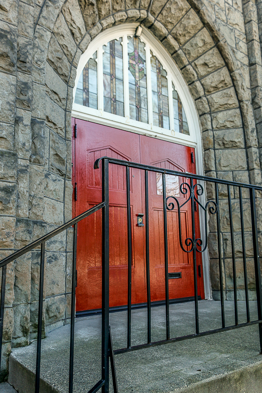 red church doors author patterson steve