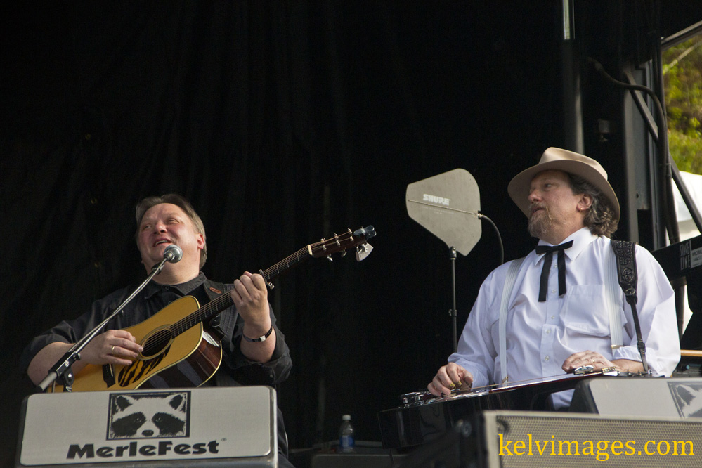 uwe and jerry during the banjo solo author mckel mckelvey jim