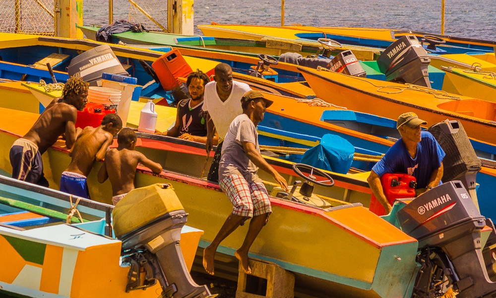bequia fishing fleet see large author downs jim