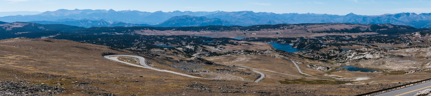 panorama from the beartooth pass mt author yin to tom