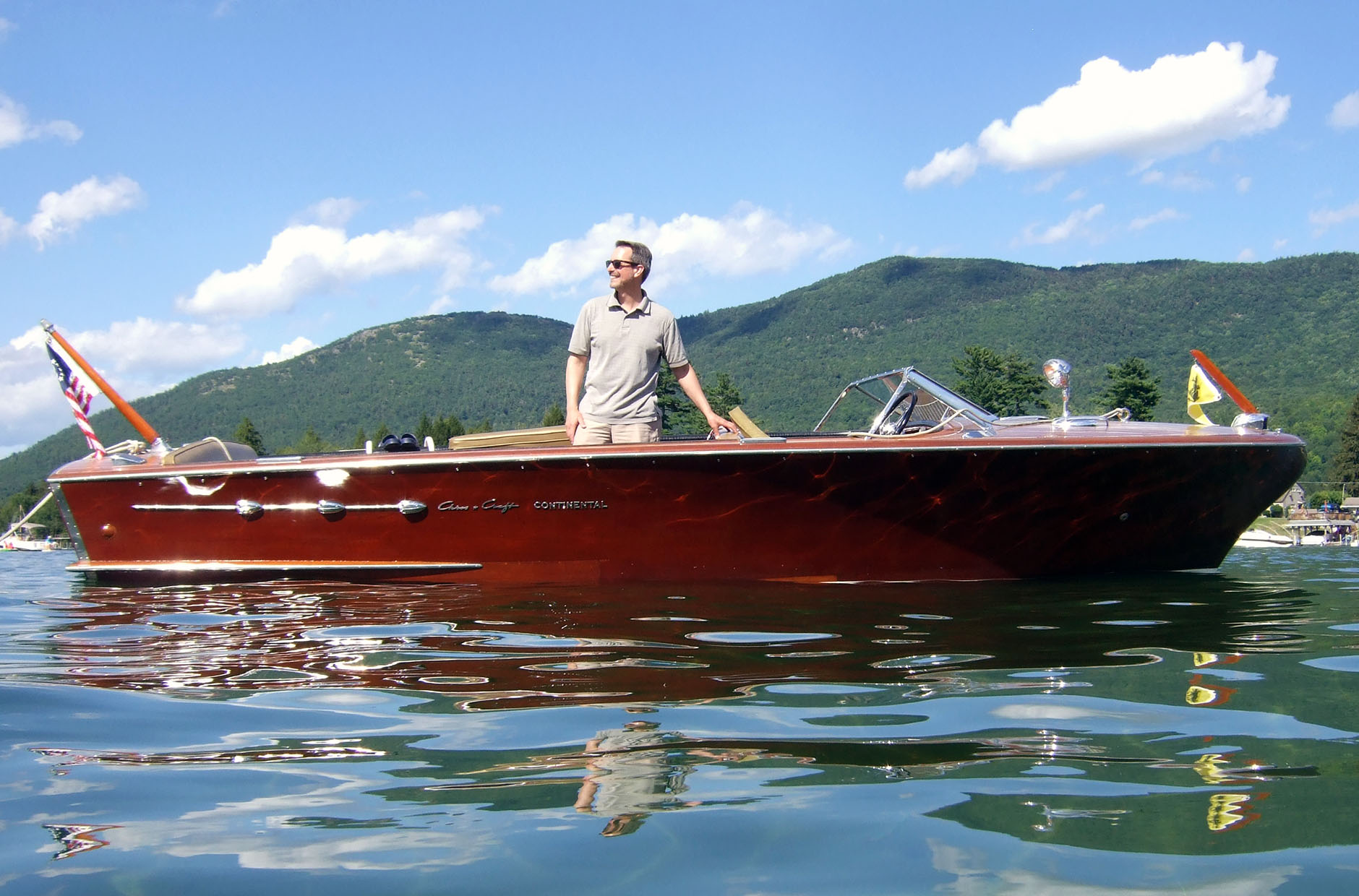 sandy bay profile chris craft continental author hull ray