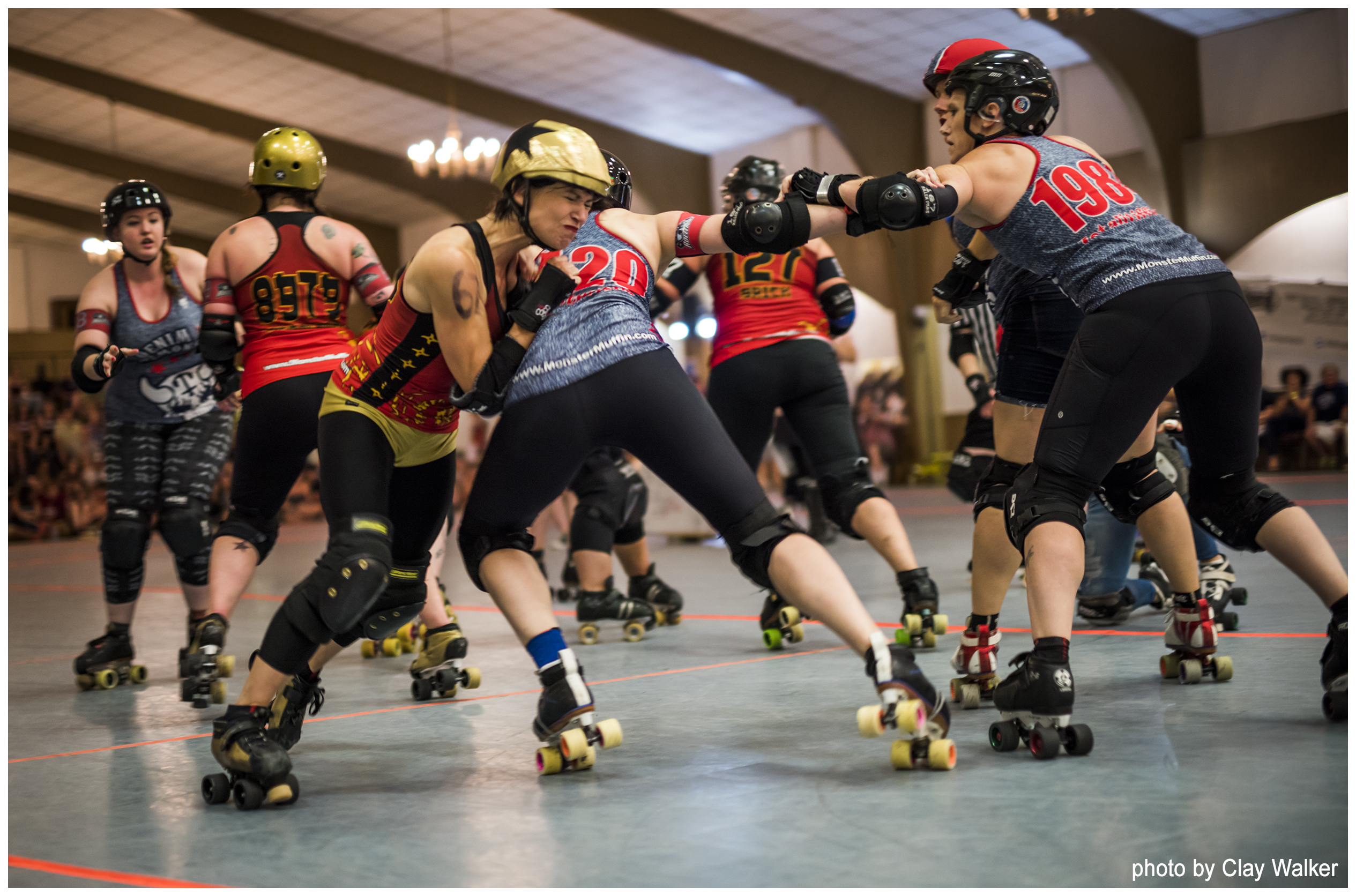 atlanta rollergirls author walker clay
