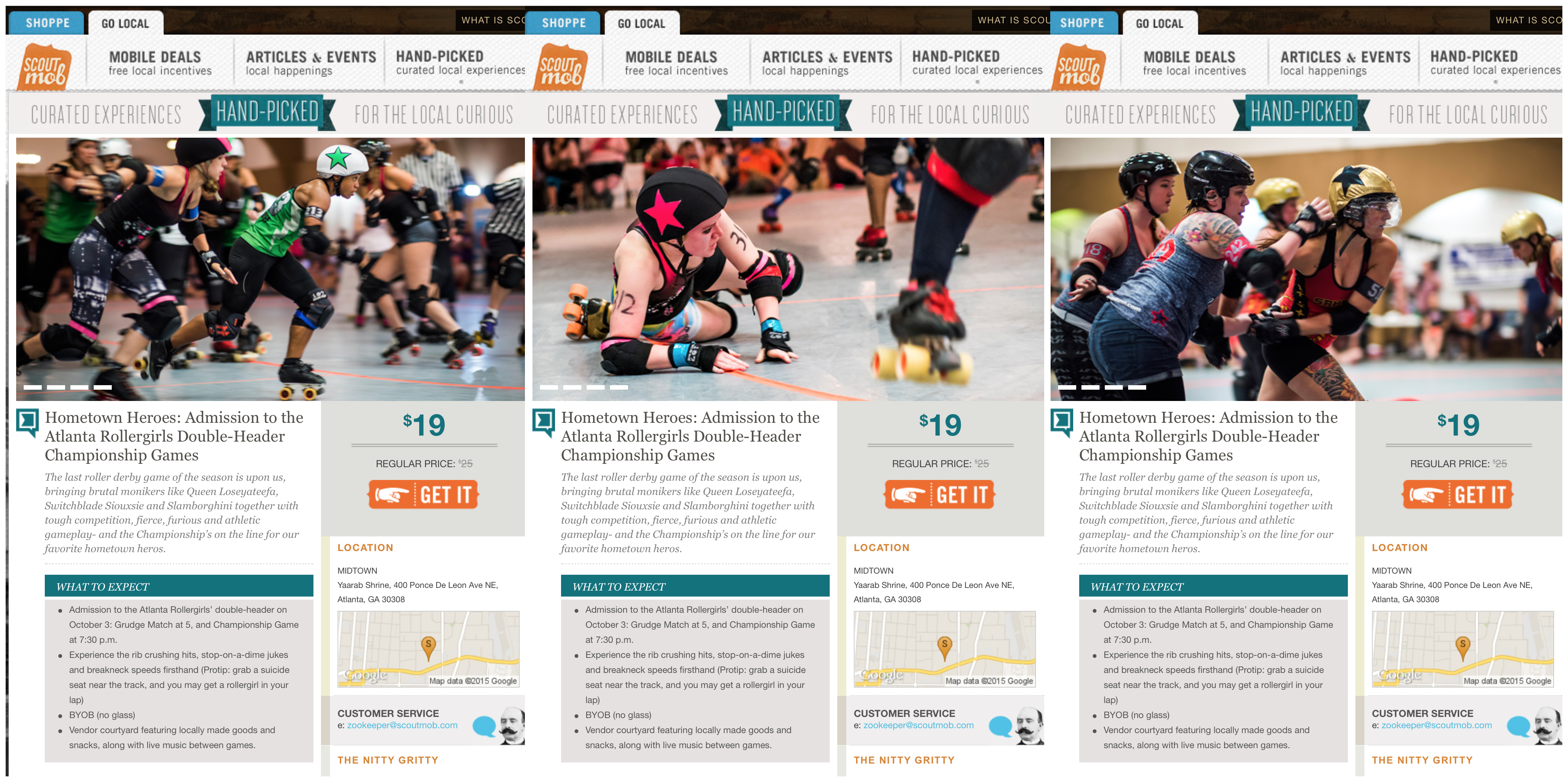 atlanta roller girls on scoutmob author walker cl clay