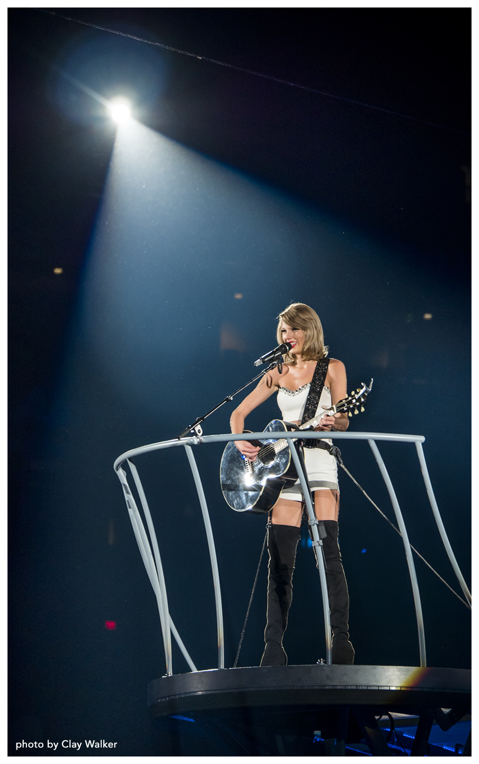 taylor swift photo by clay walker author c