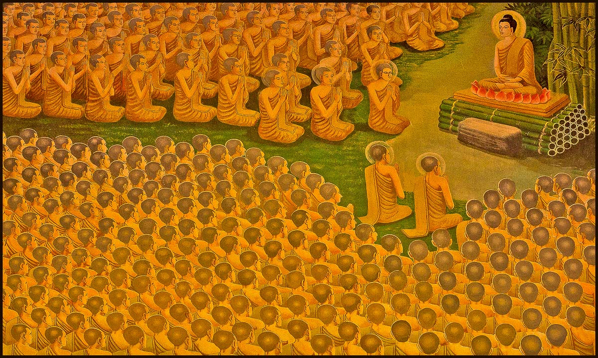 enlightened disciples large for brush detail aut downs jim