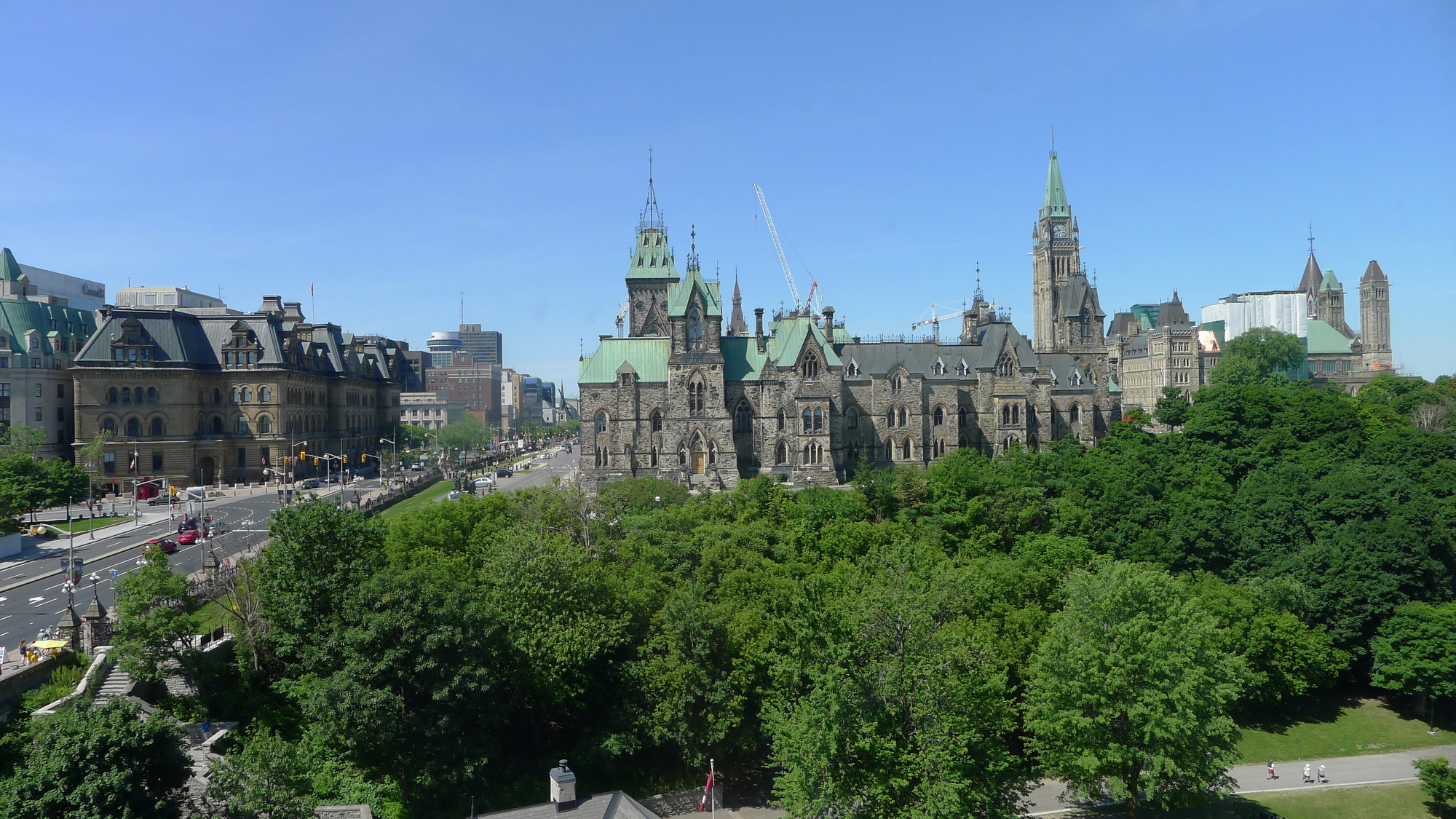 parliment building from chateau laurier rd fl room tai martin
