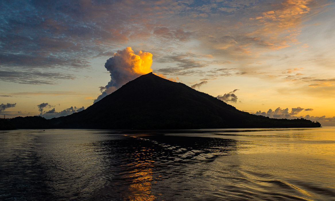 nightfall in the banda sea large please author d downs jim
