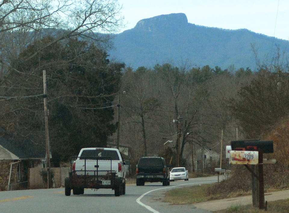 table rock mountain from nc author kelly landrum
