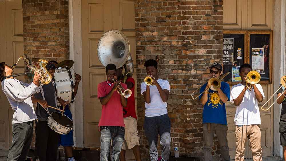 brass author melia wayne nawlins street music