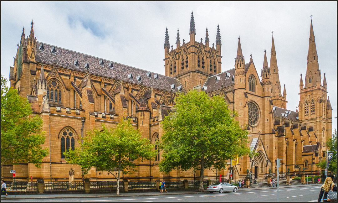 st mary s cathedral sydney australia author downs jim