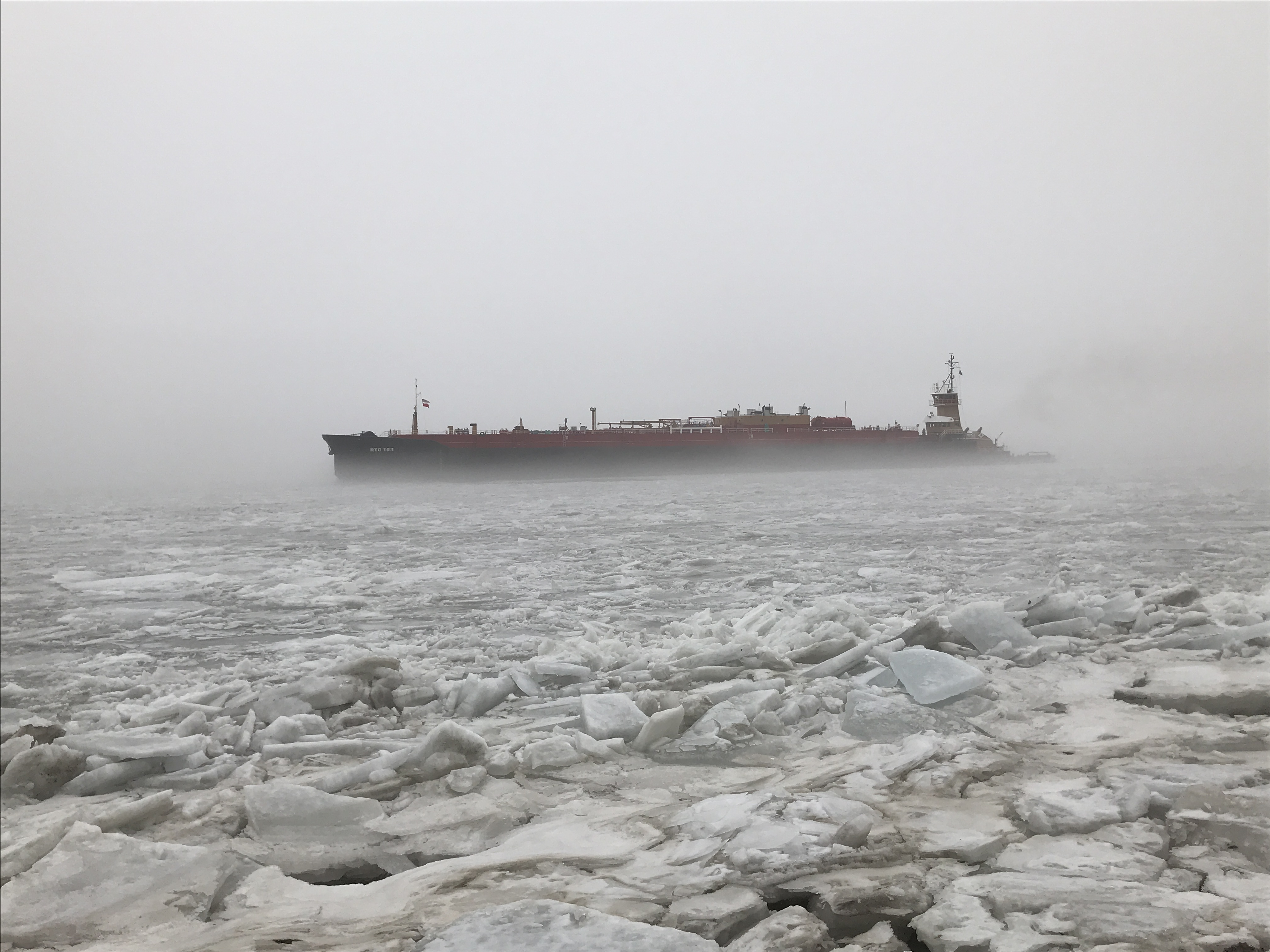 ice tug author miller gary went down to hudson r