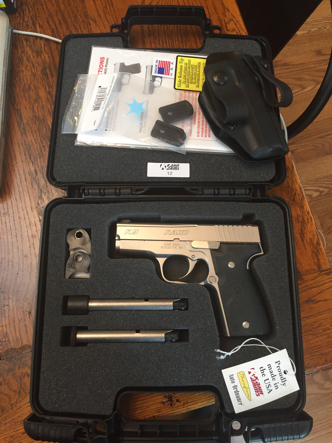 FS: FTF in NE Ohio  BNIB Kahr K9 and Ruger MKIII 22/45