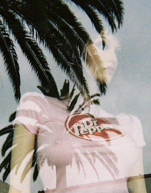 dr pepper mannequin with palm tree reflection aut dreizler bob