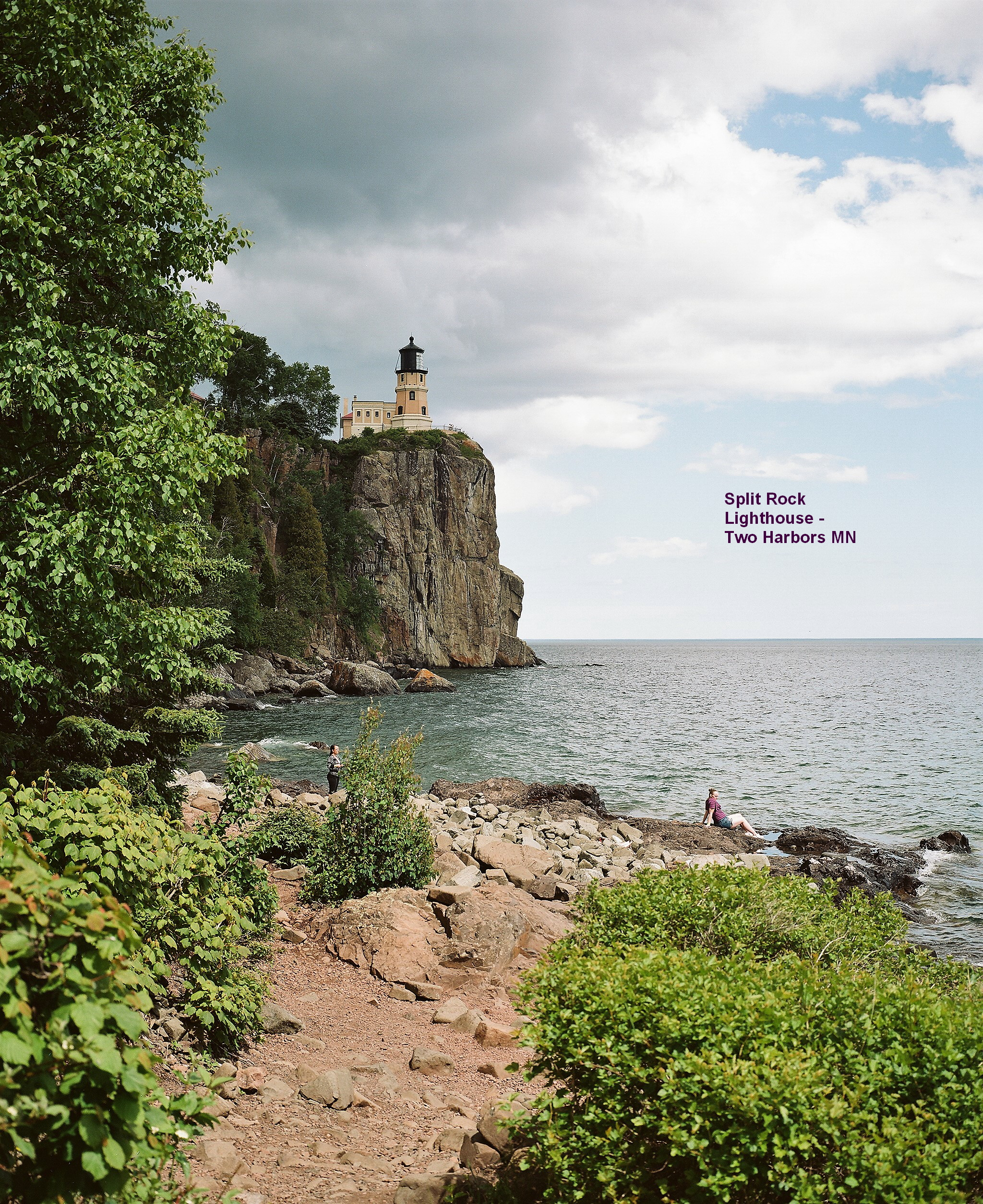 split rock lighthouse two harbors mn author wil wilson jerry