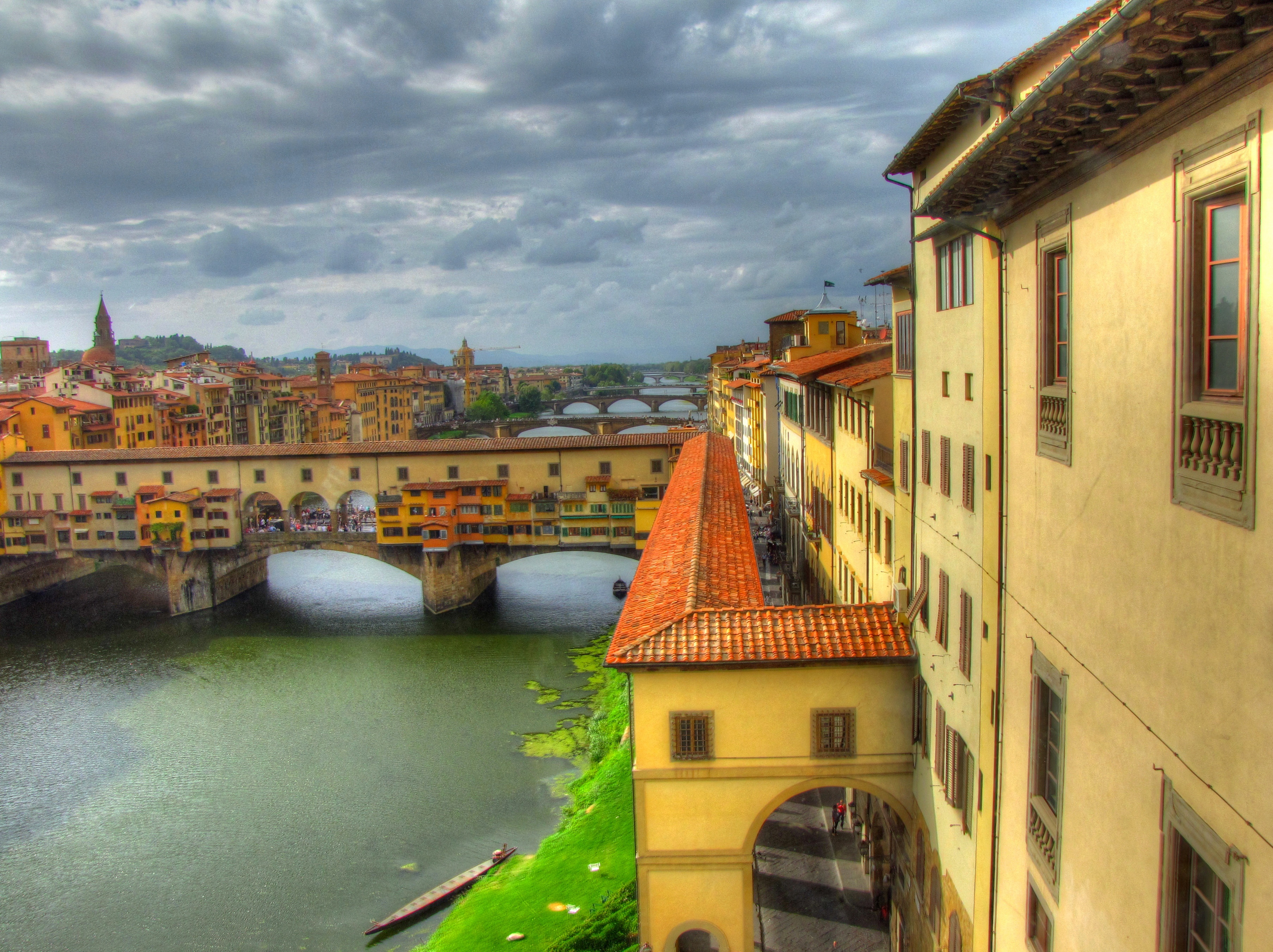 view from the uffizi author lucke charlie there