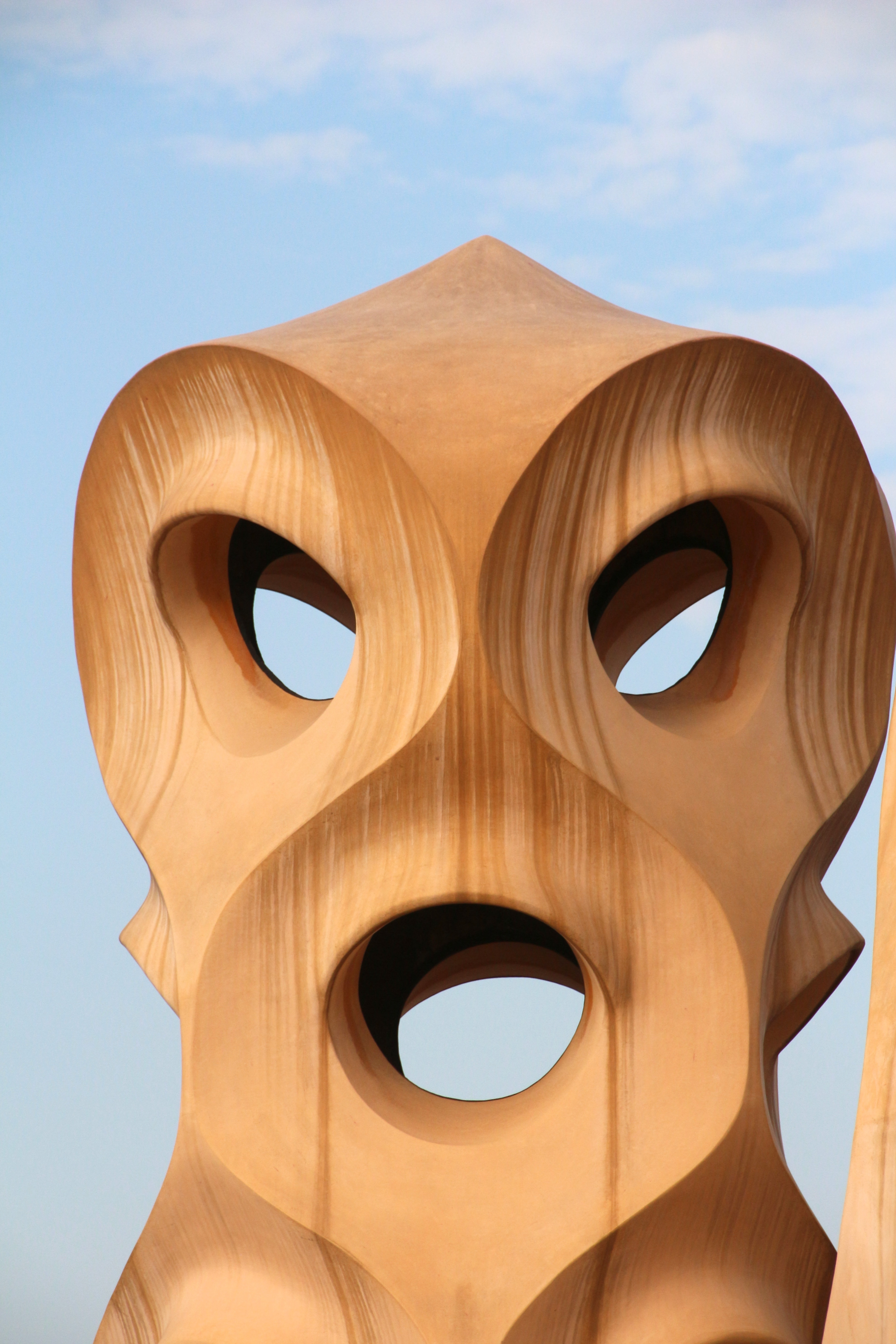 la pedrera author lucke charlie on the roof of g