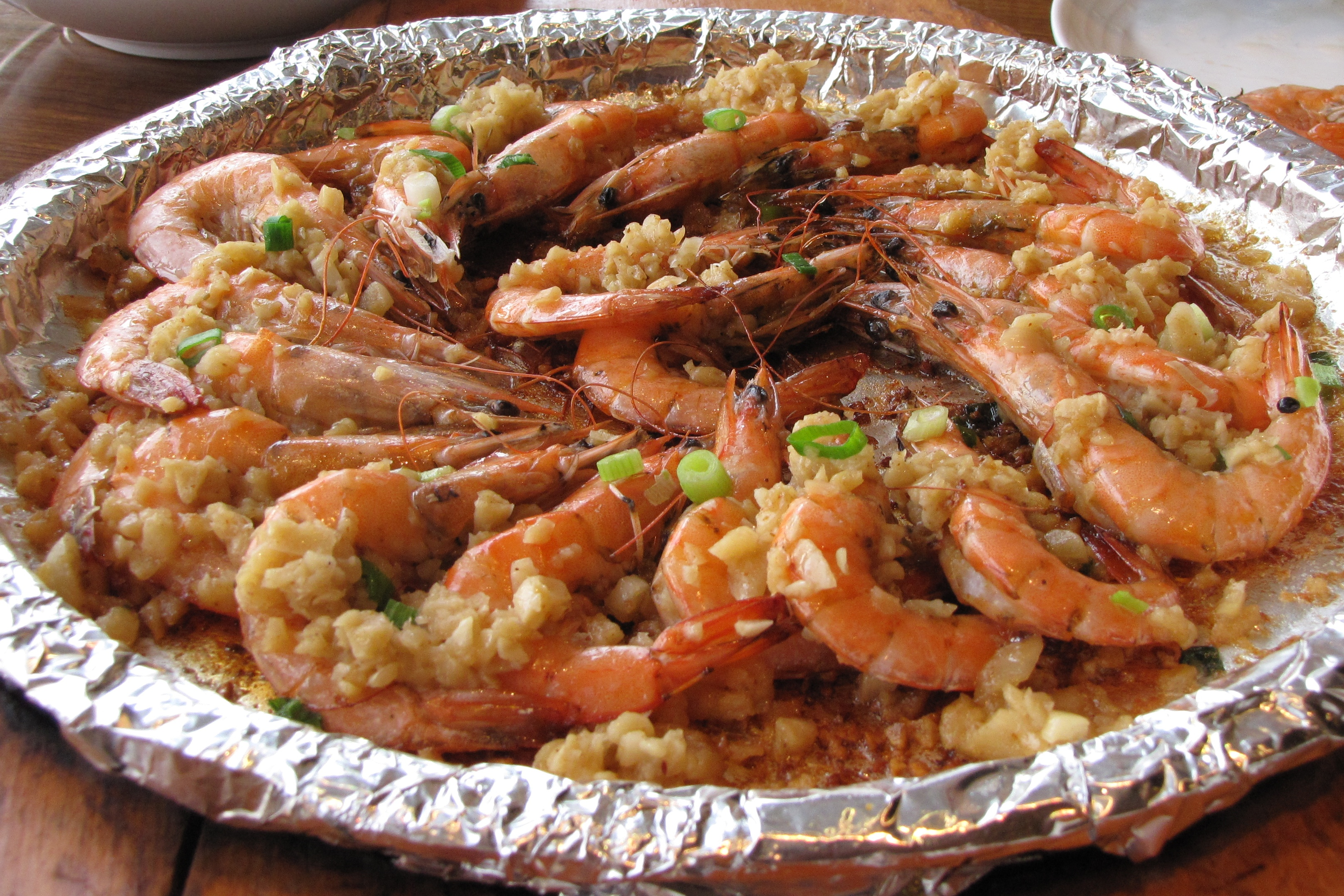 garlic with shrimp author lucke charlie you have