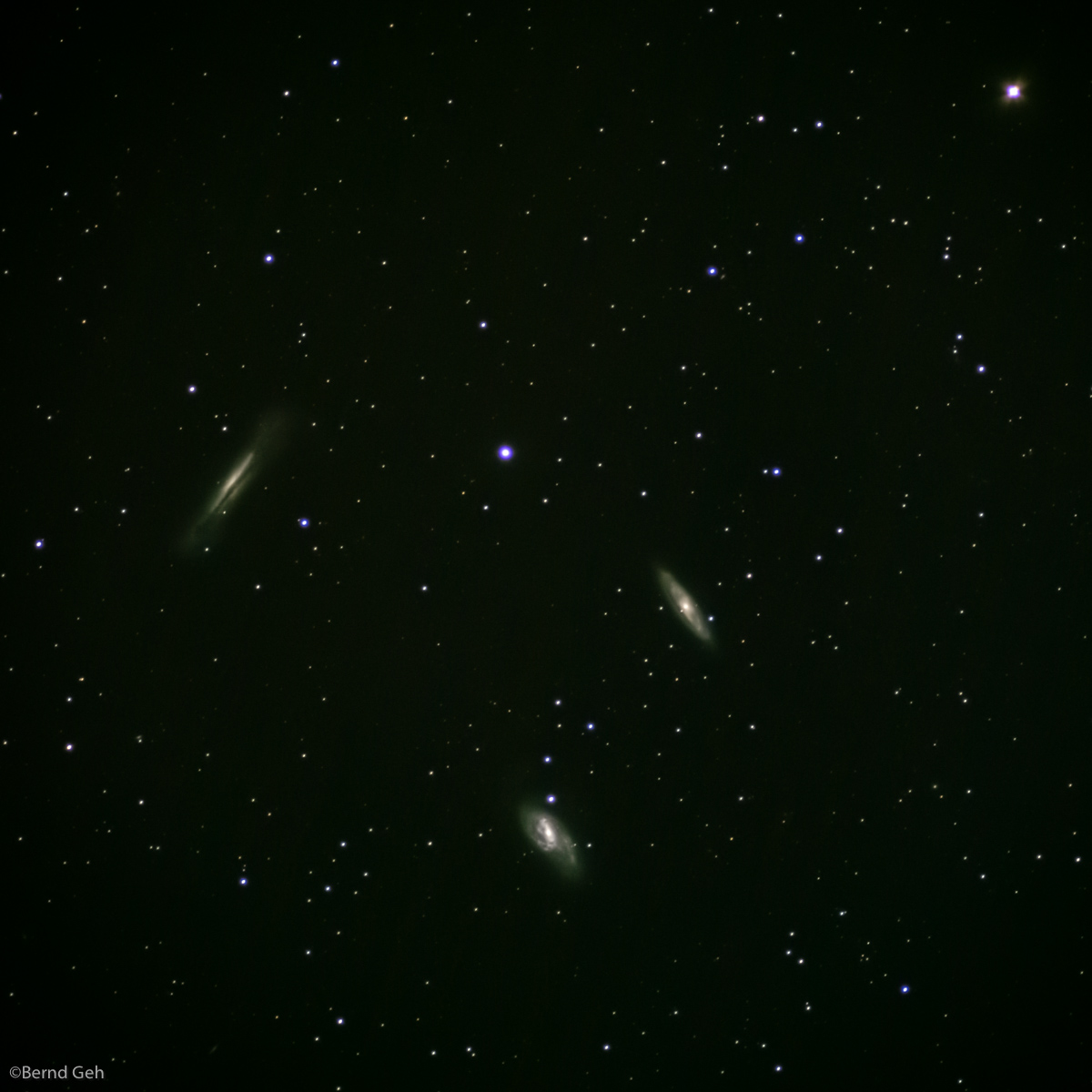 m and ngc leo triplet author geh bernd stacked
