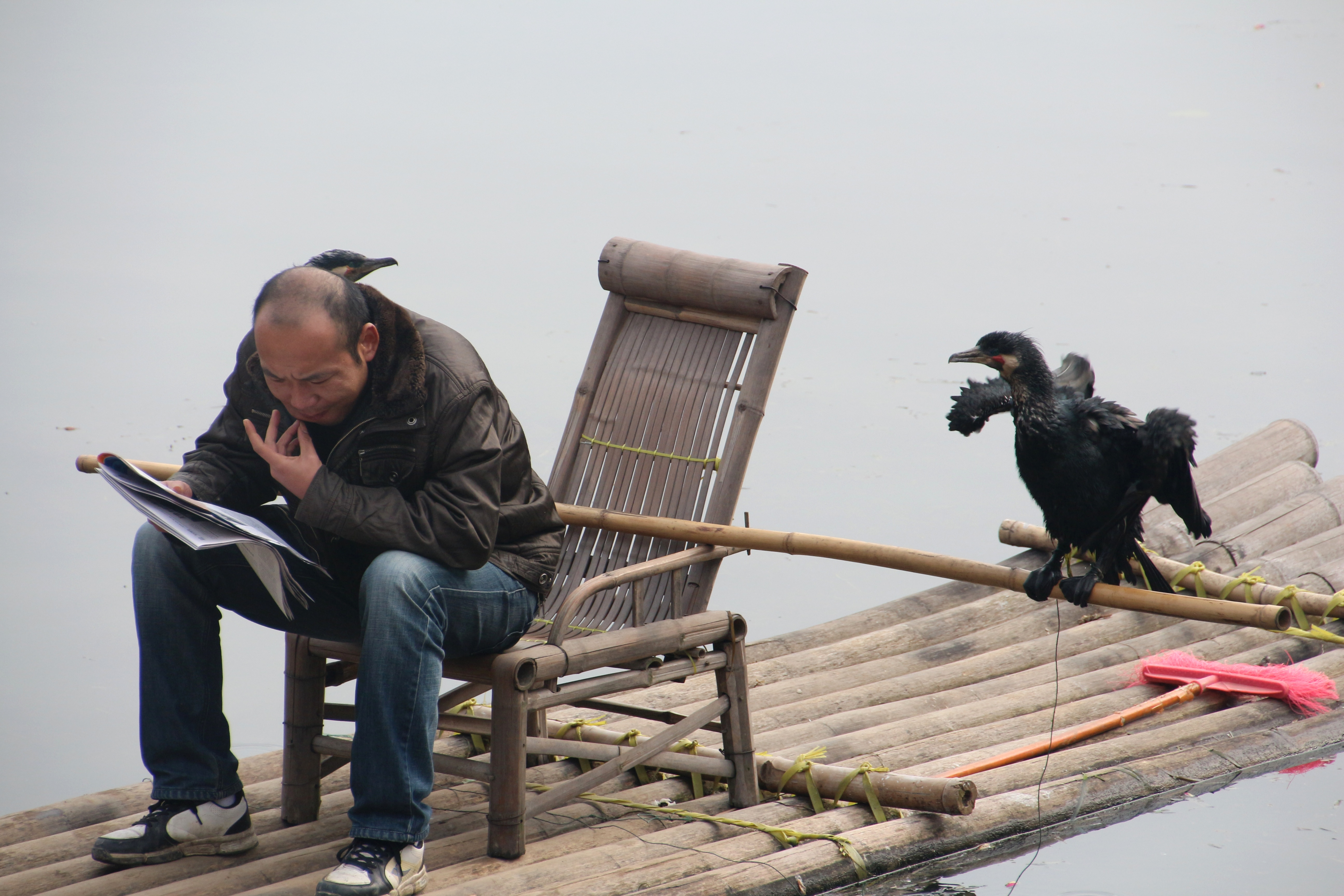 fishing on the li river author lucke charlie fis