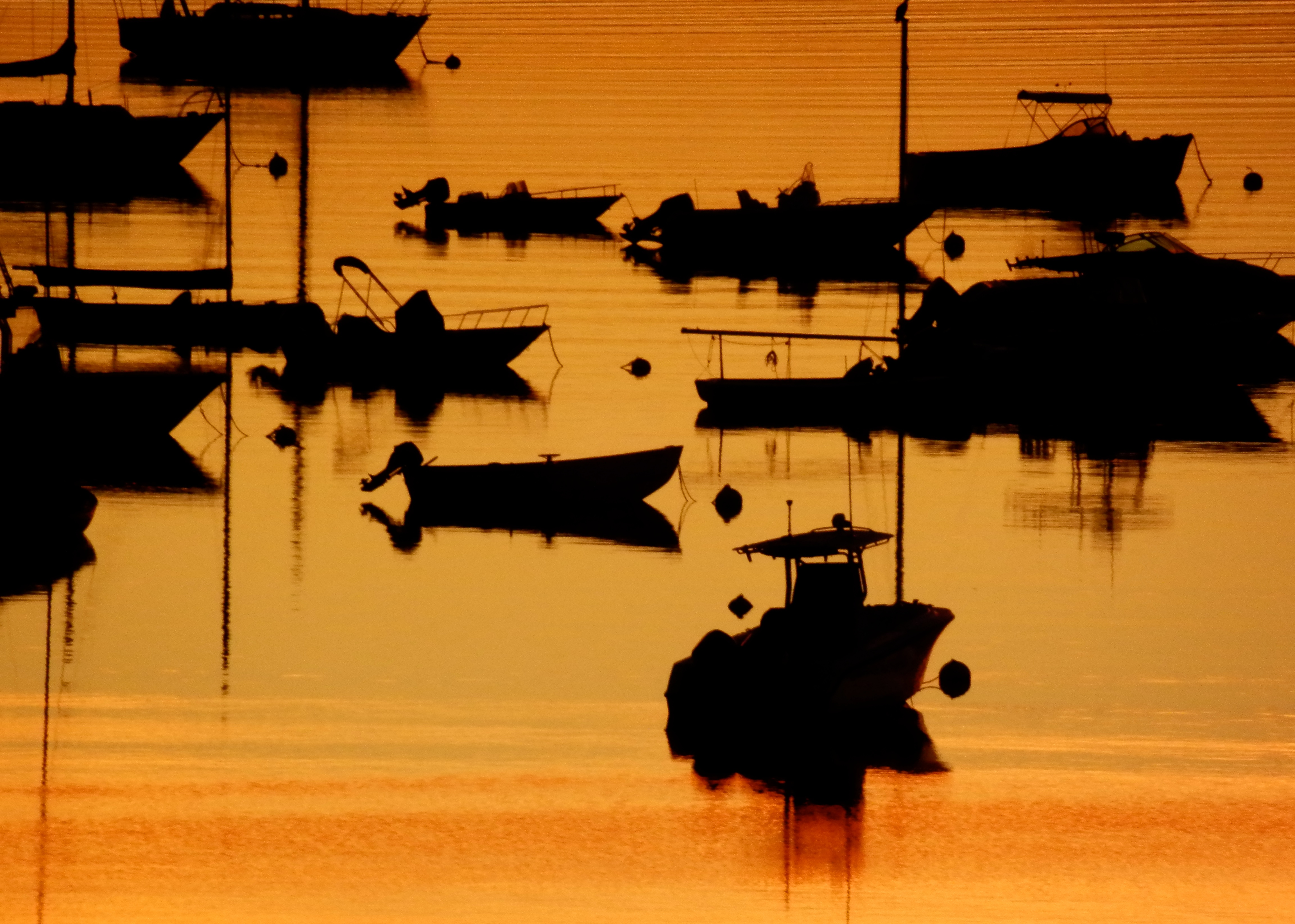 boats at anchor author lucke charlie are getti