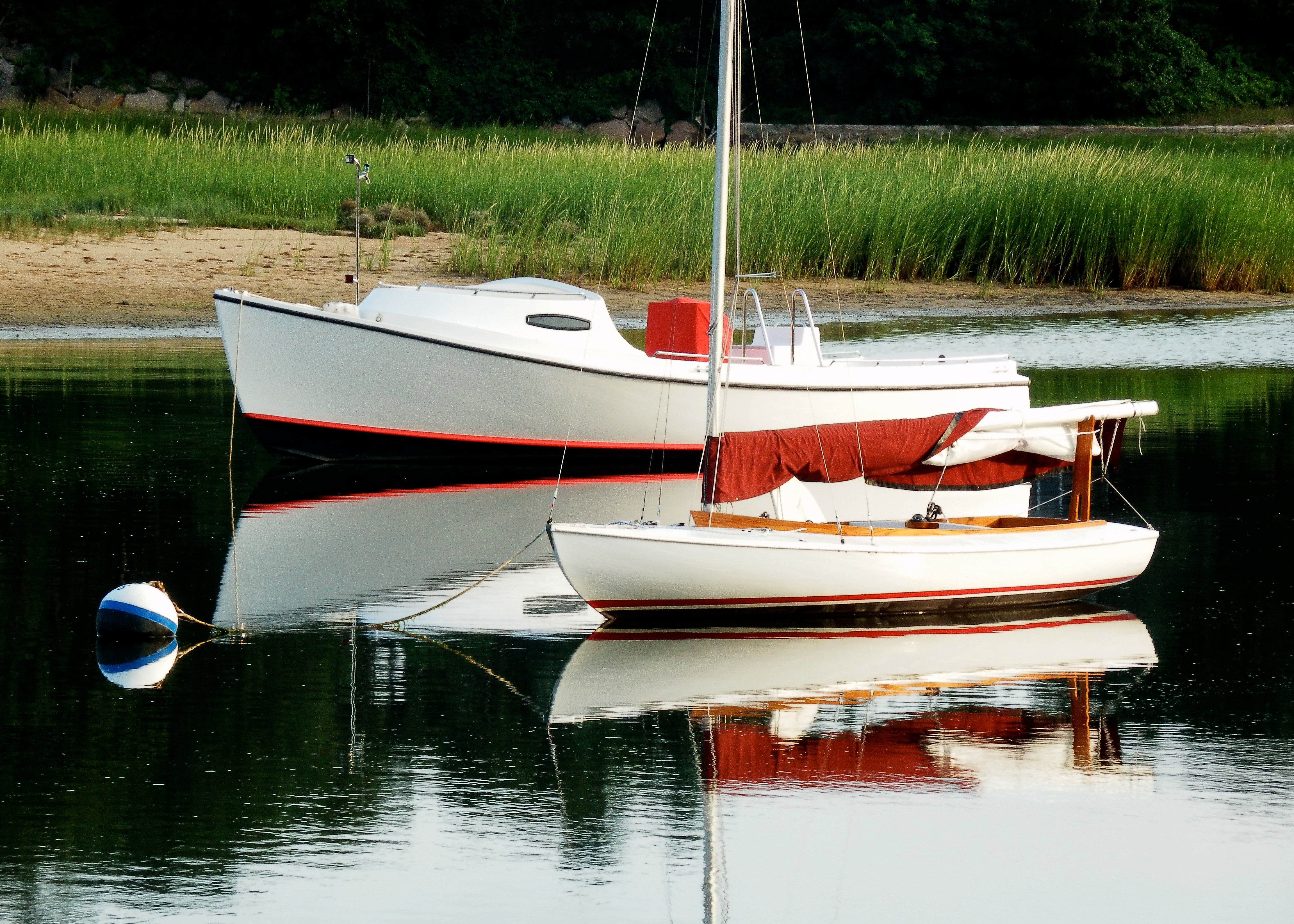 sail and motor boats together author lucke charli charlie