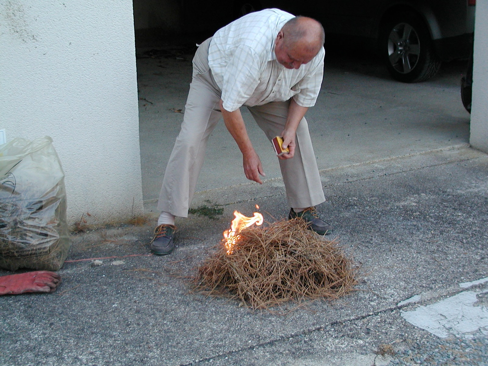 getting the fire started author lucke charlie be
