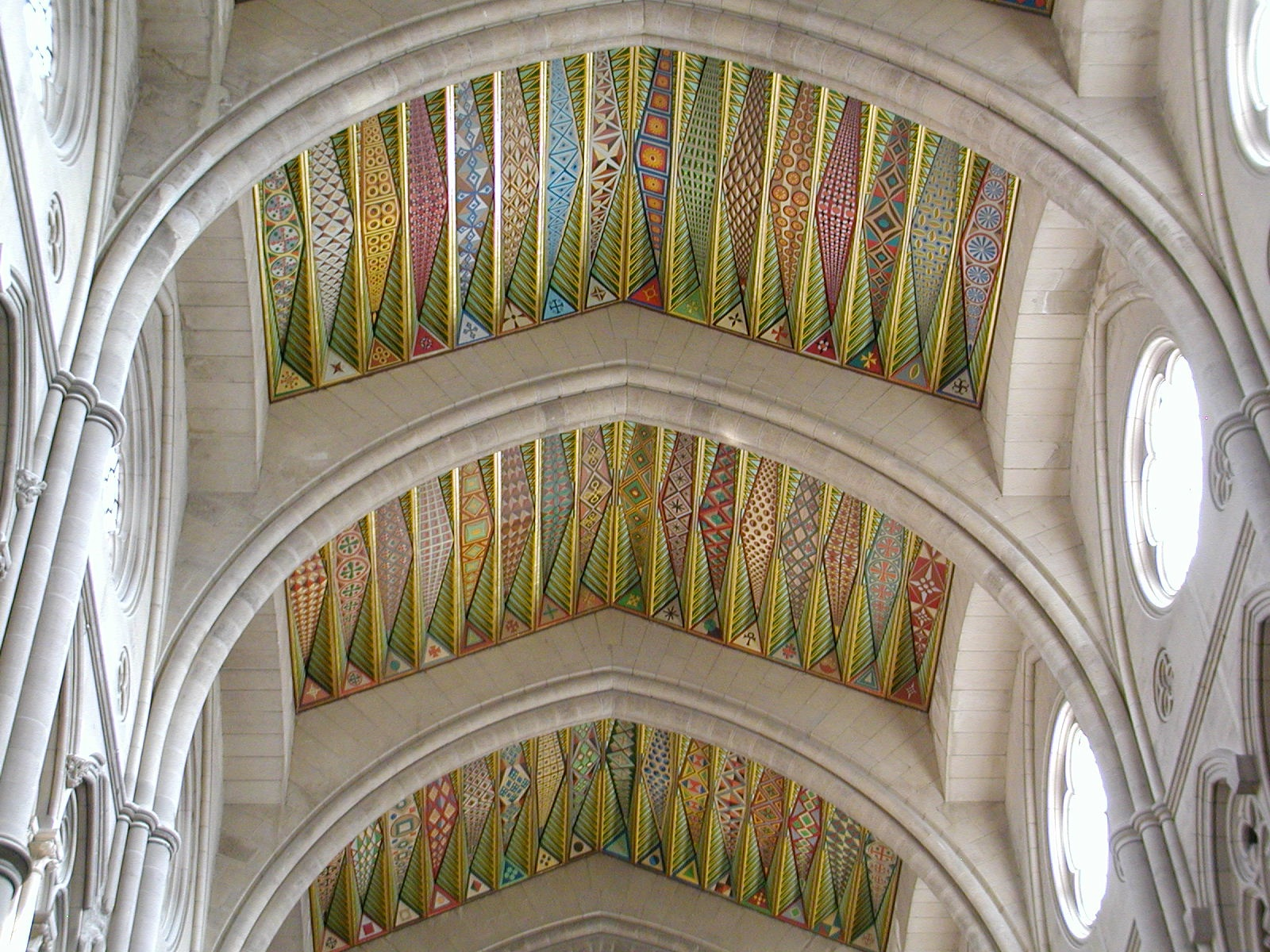 new cathrdral ceiling author lucke charlie conte