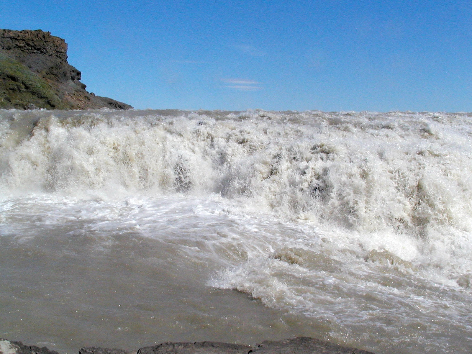 gulfoss falls author lucke charlie view from the