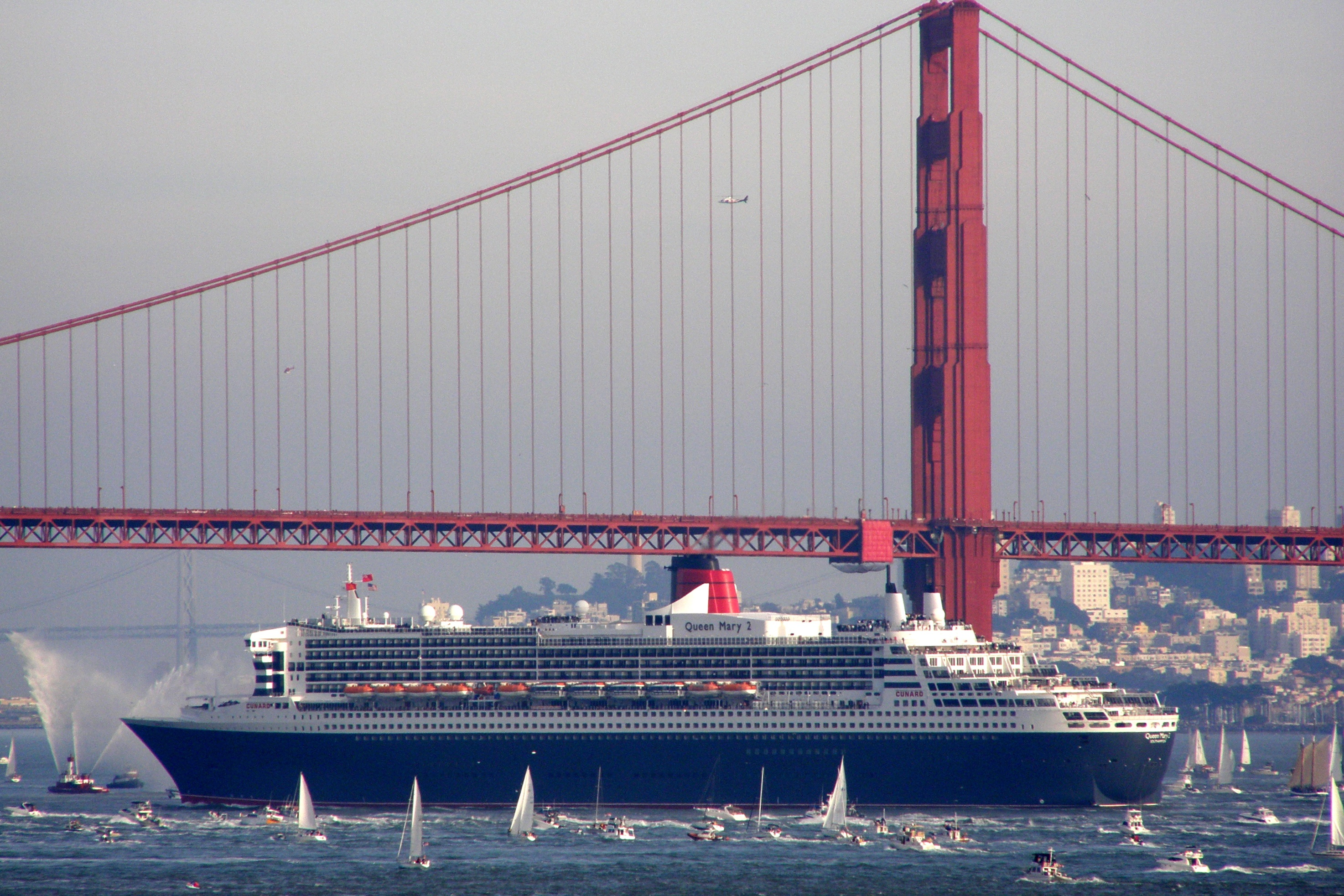 queen mary visits san francisco author lucke char charlie