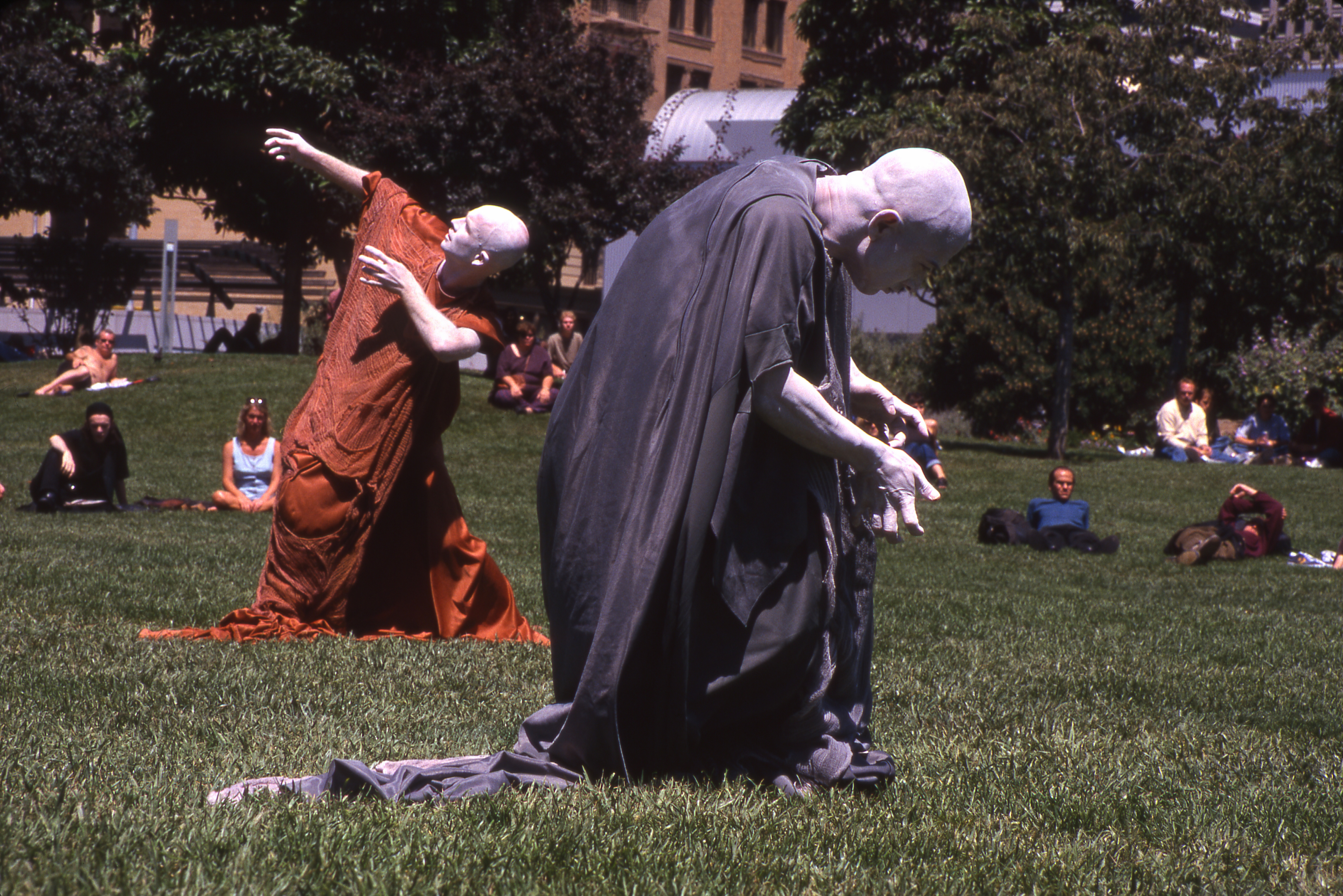 butoh in the park author lucke charlie