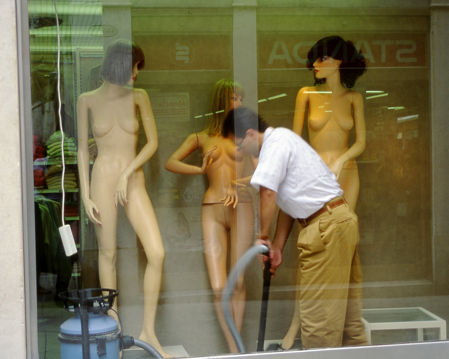 vacuuming the mannequins author lucke charlie th