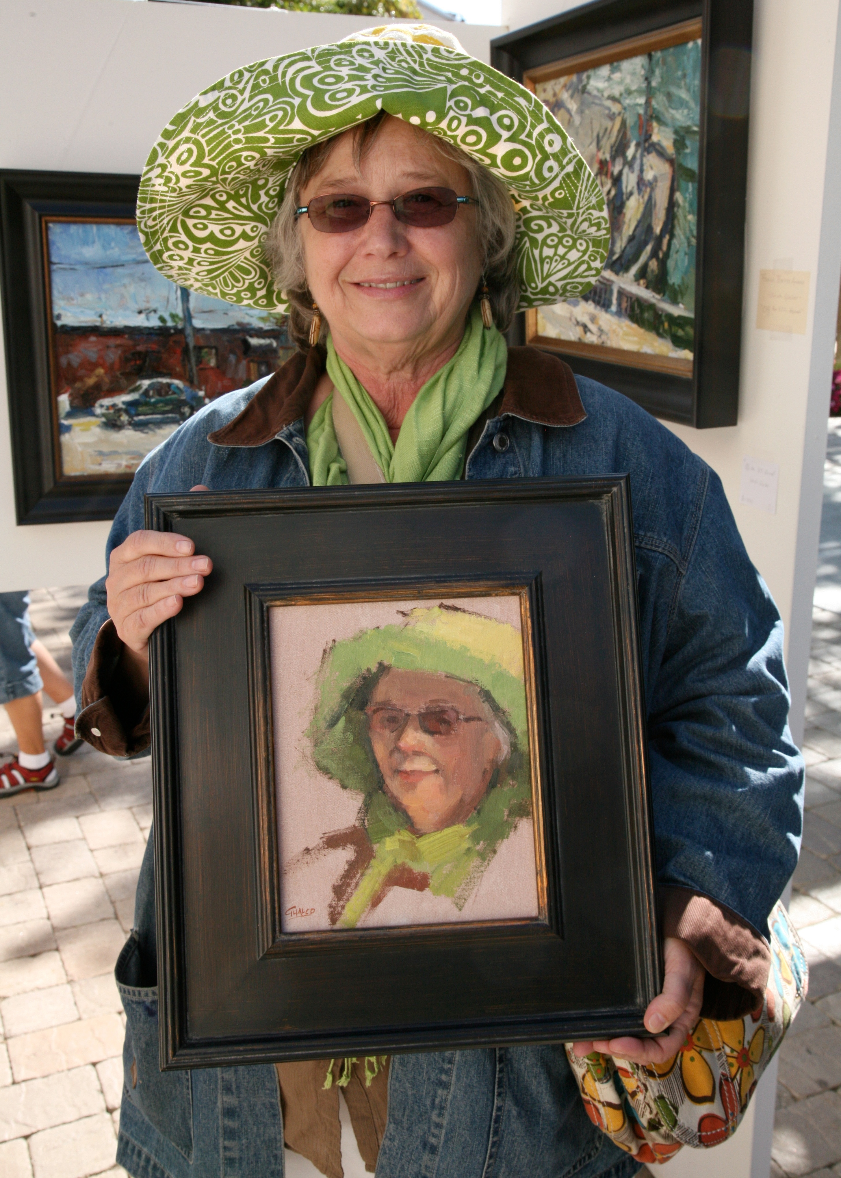 buying her portrait author lucke charlie