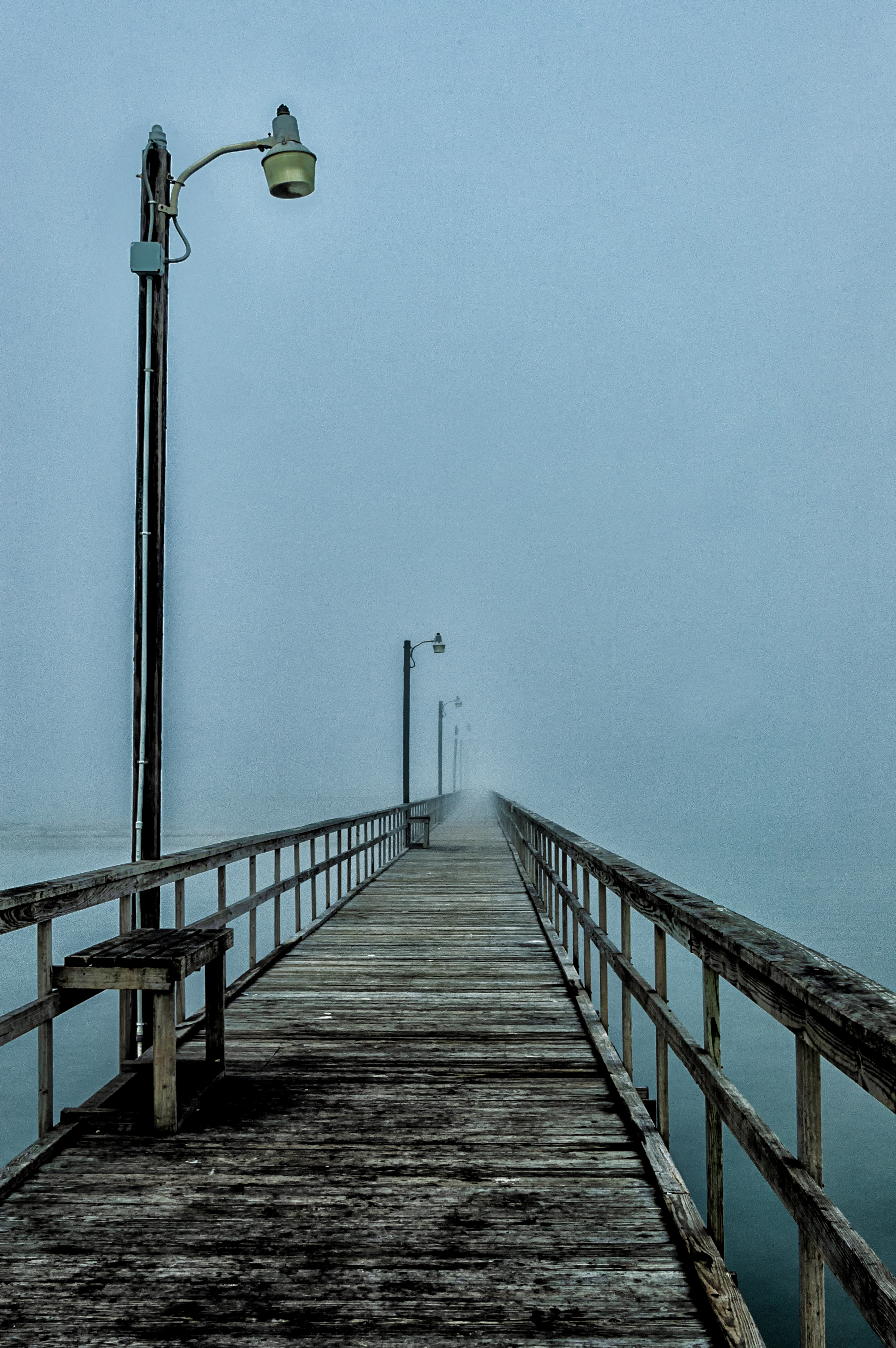 into the mystic author bloy bruce pier extending
