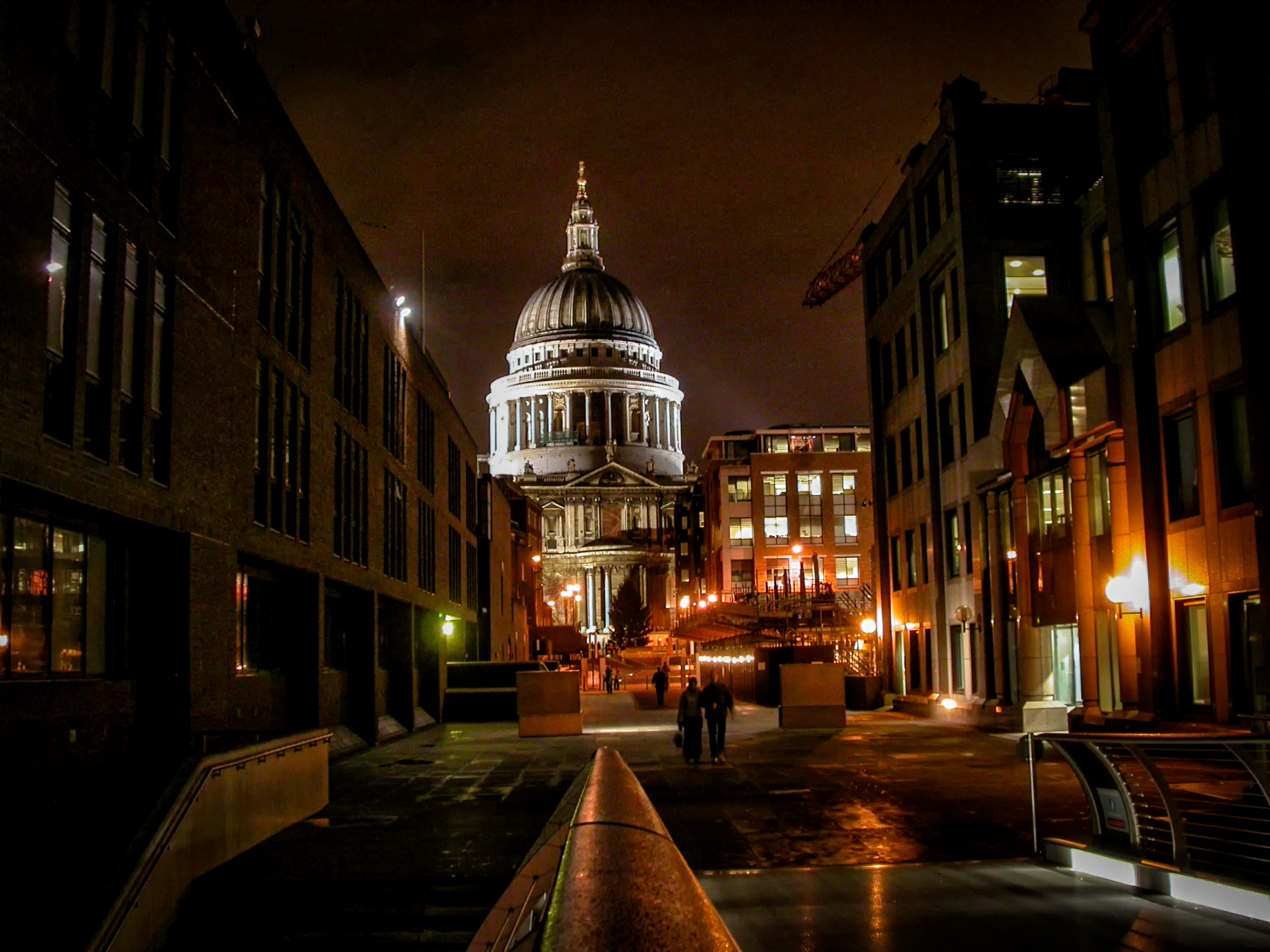 st paul s at night author bloy bruce london n