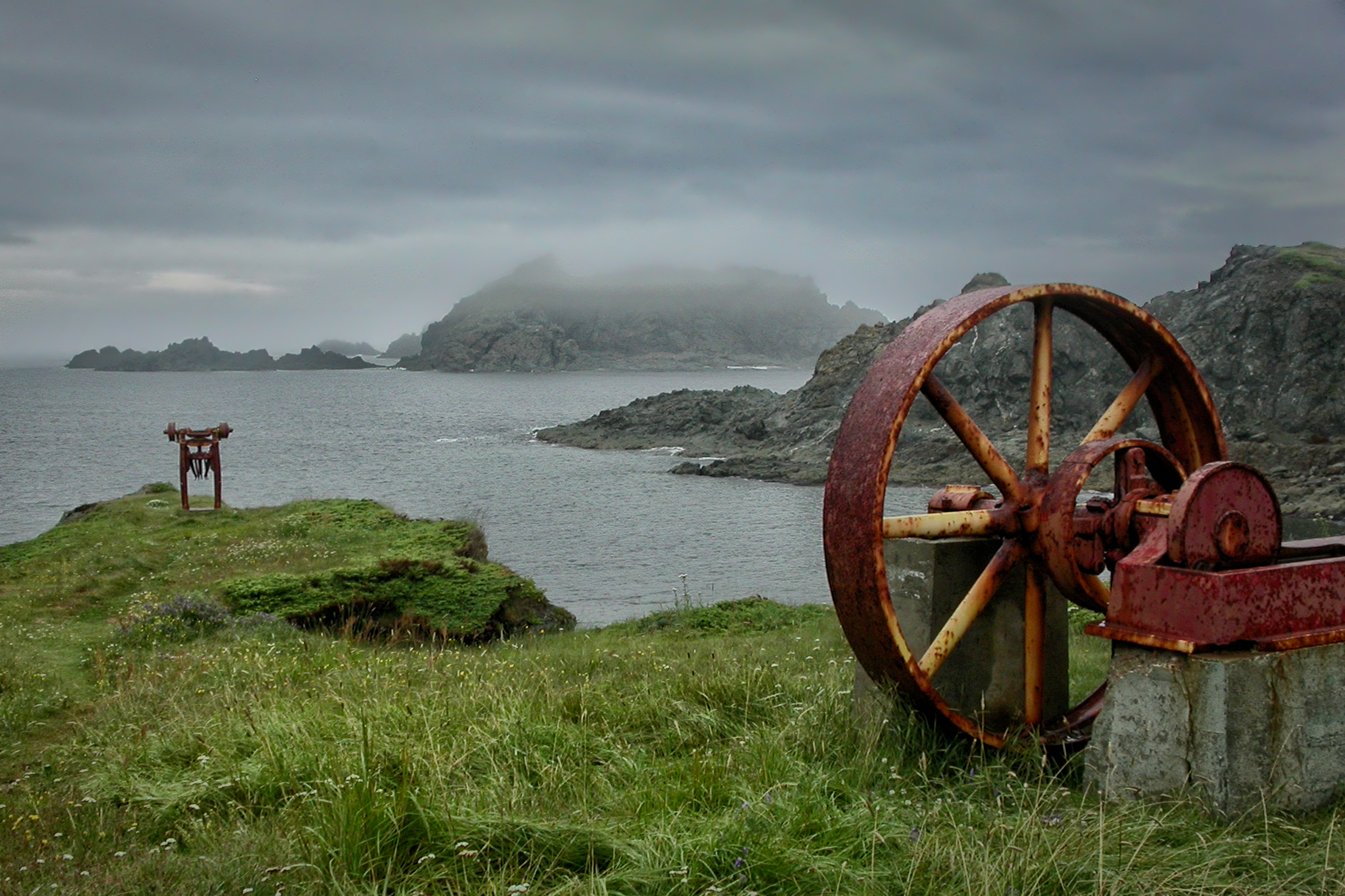 rusting relics author bloy bruce twillingate new