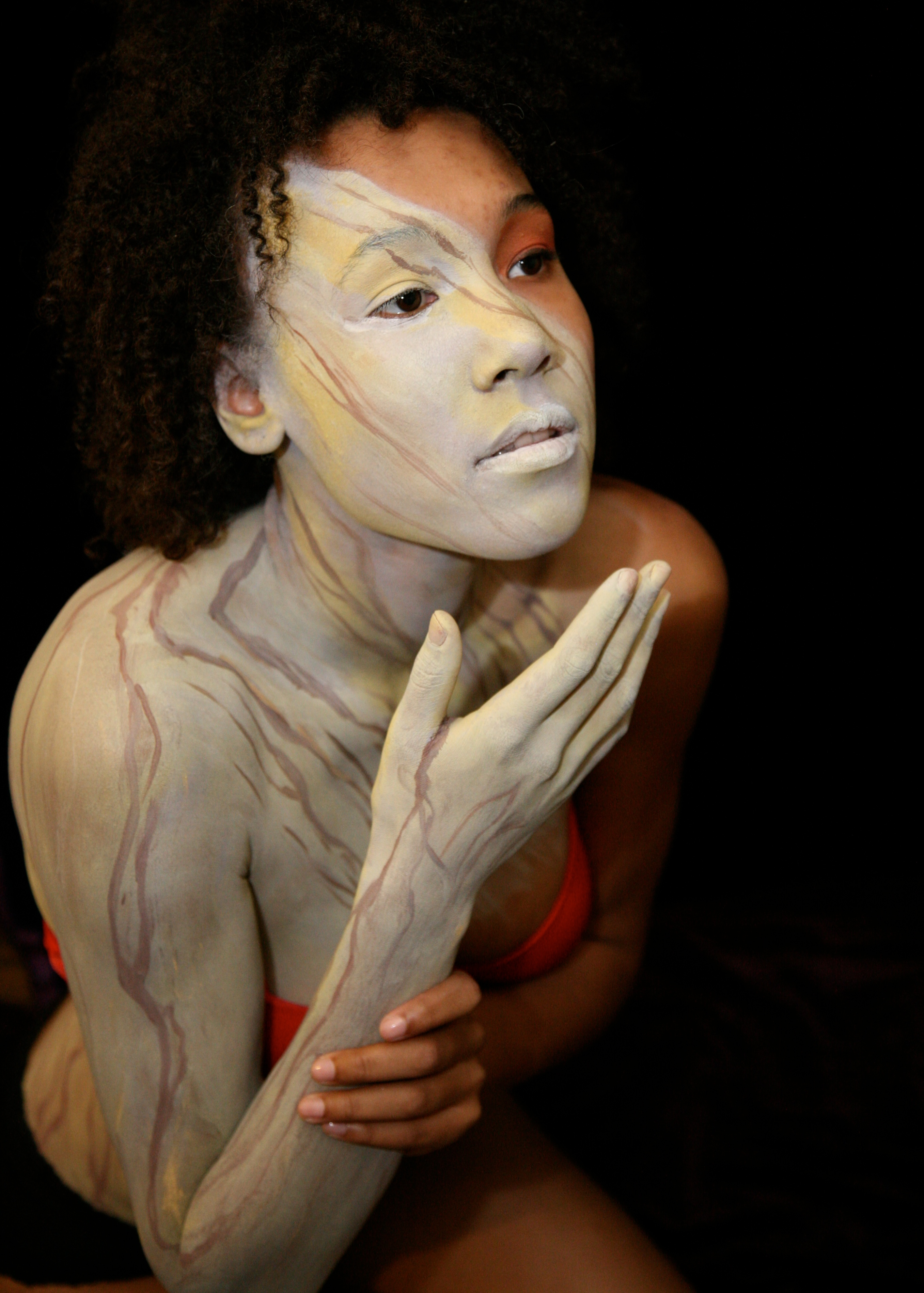 body painting author lucke charlie why am i turn
