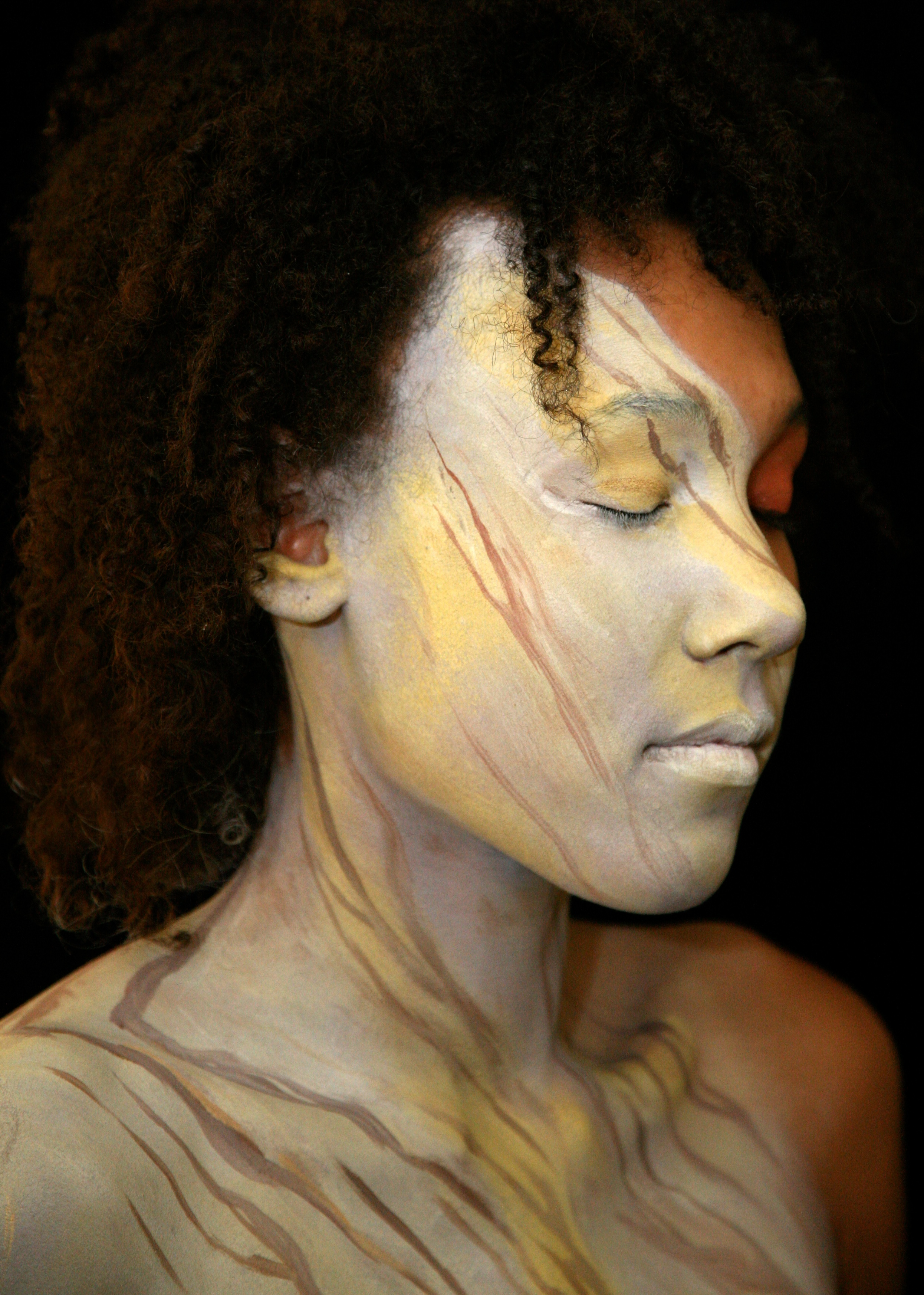 body painting author lucke charlie this must be