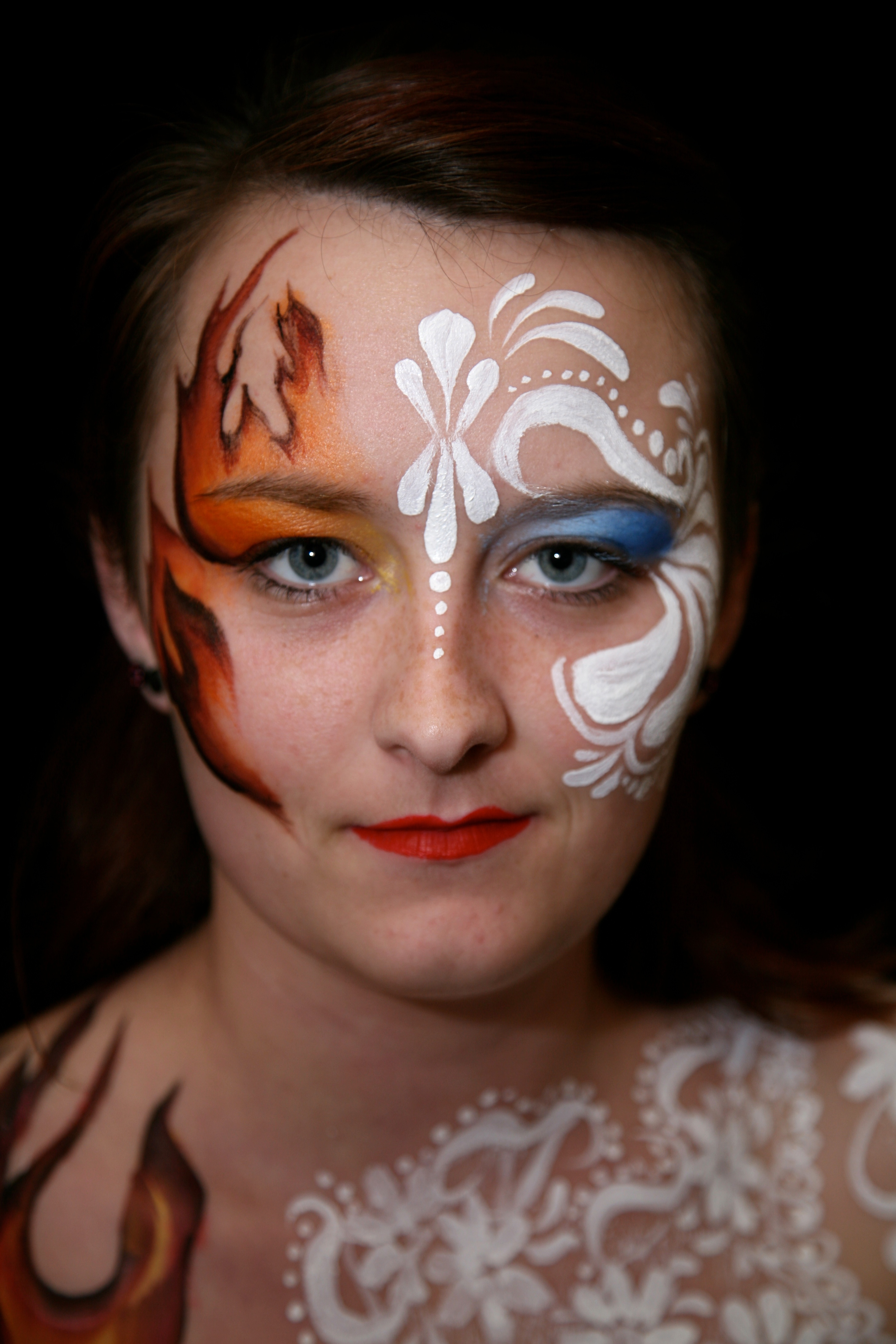 body painting author lucke charlie