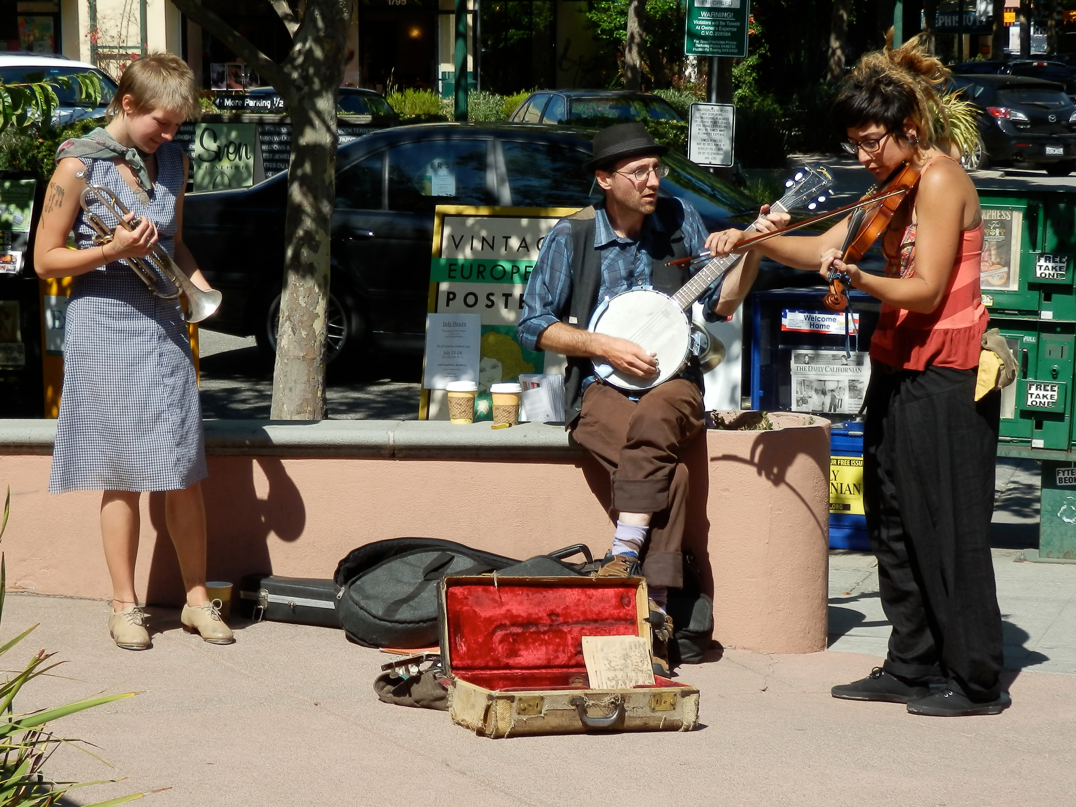 fourth st buskers author lucke charlie