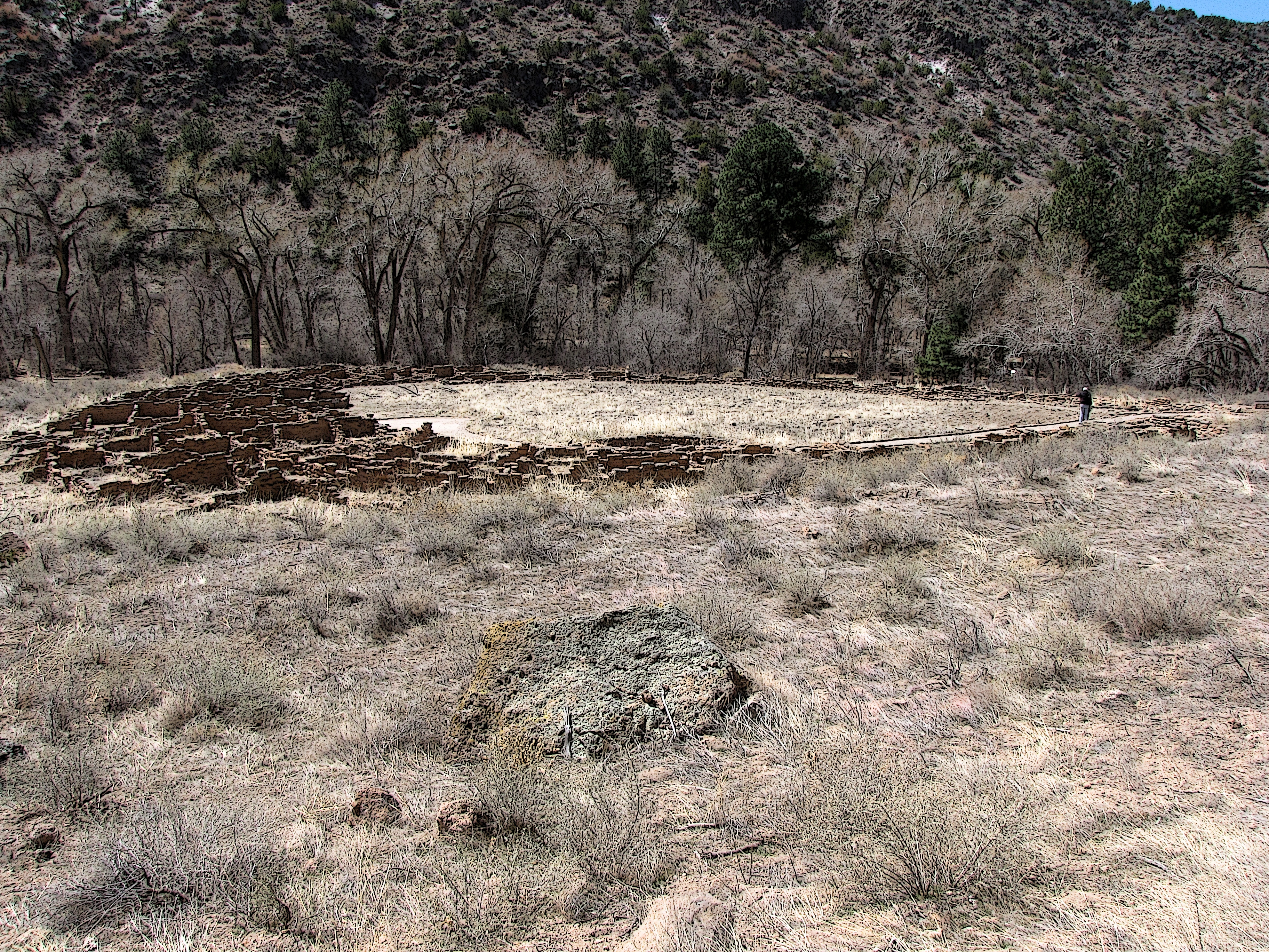 new mexico ruins author lucke charlie